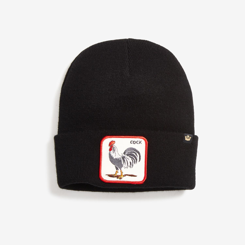 Winter Bird Knit Beanie