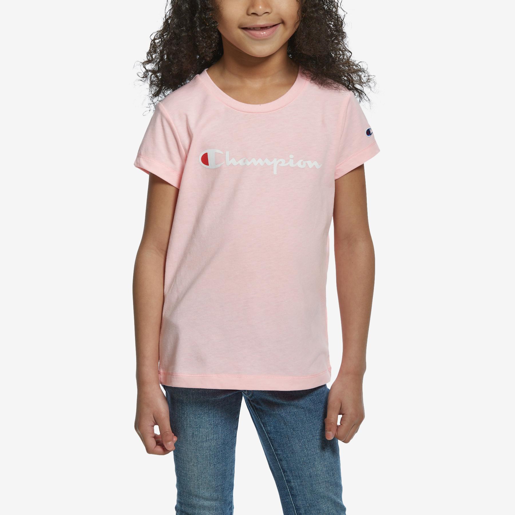 Girl's Short Sleeve Fashion Tee
