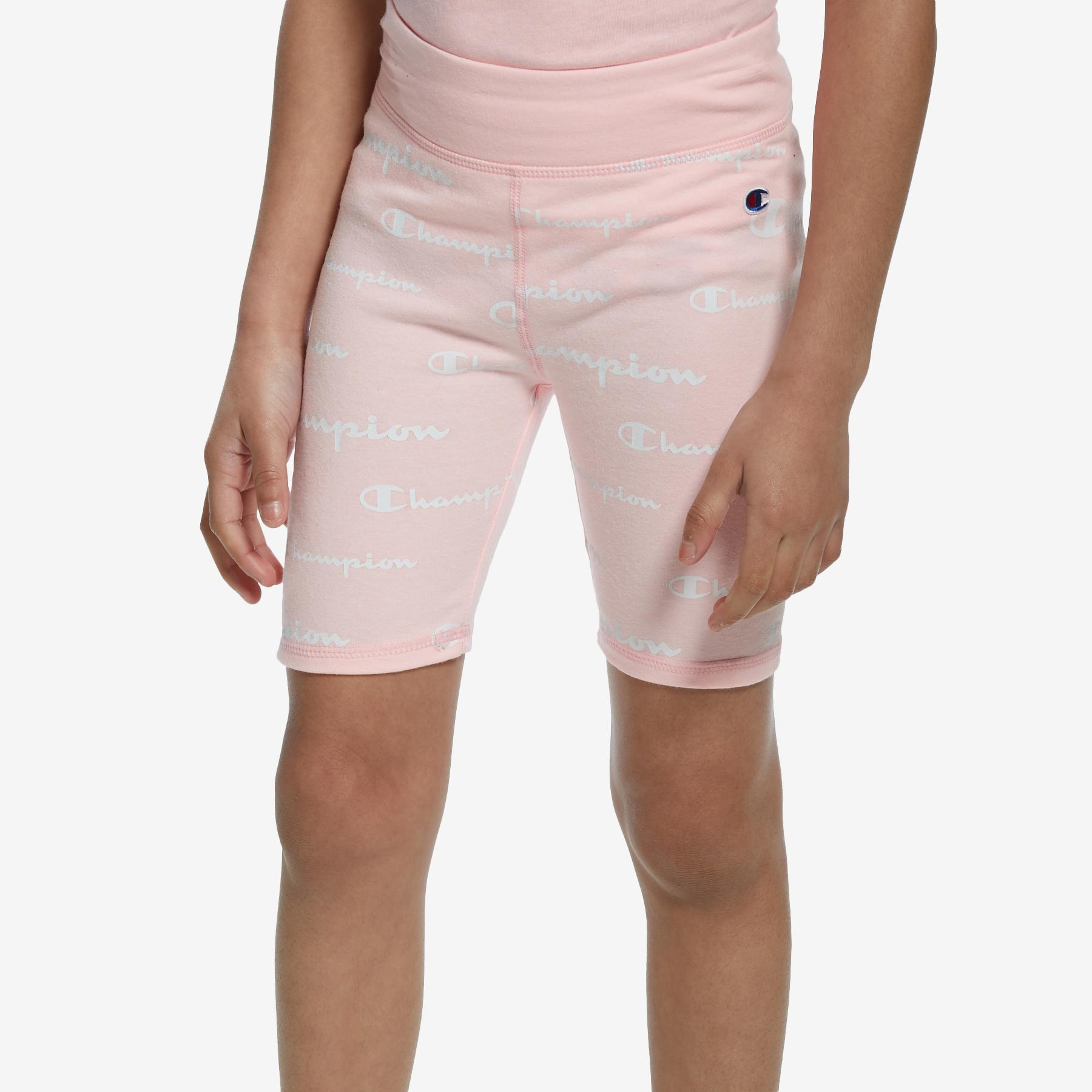Girl's All Over Print Bike Shorts