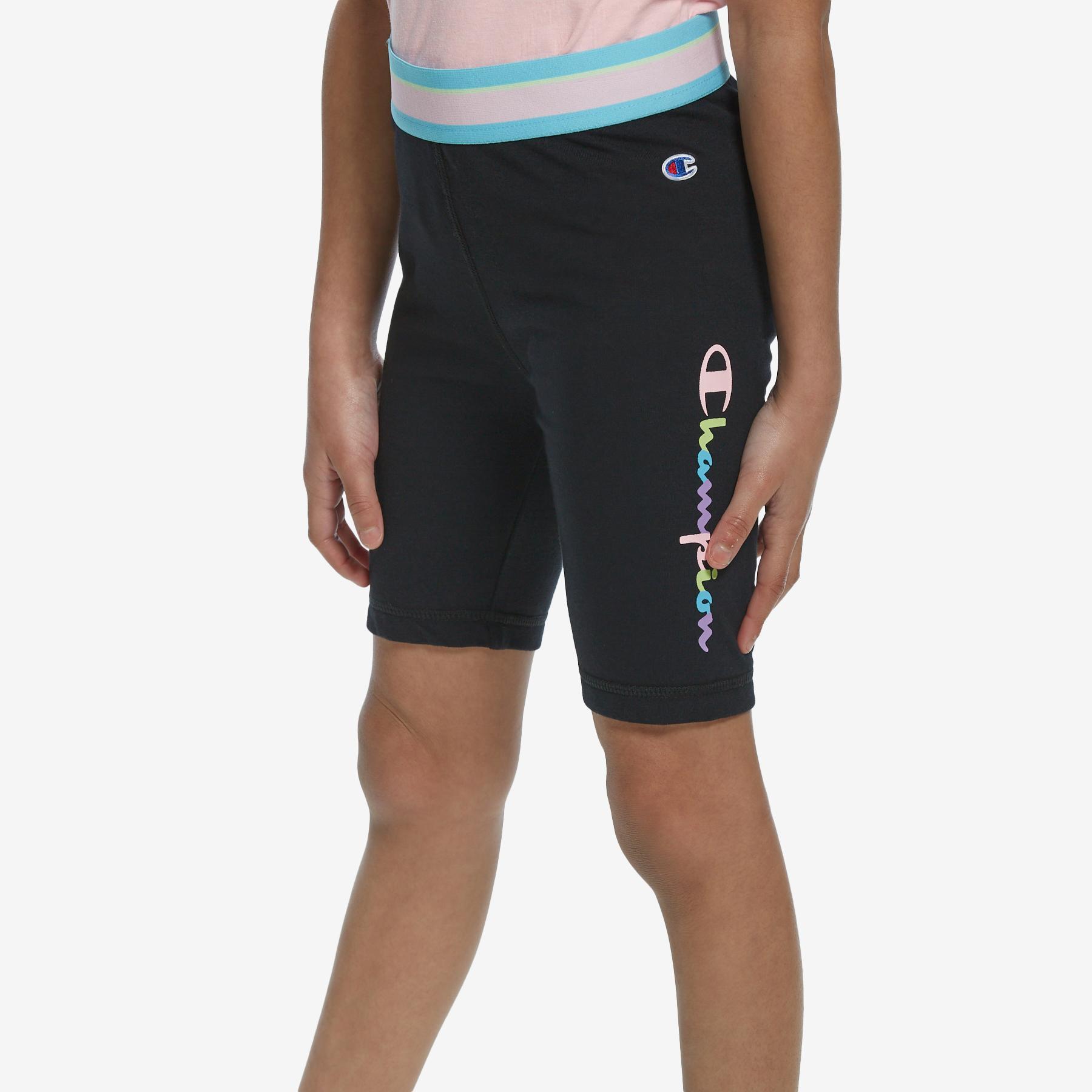 Girl's Banded Bike Shorts