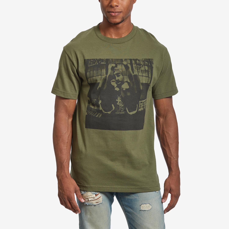 Men's Tupac Bold Army T- Shirt