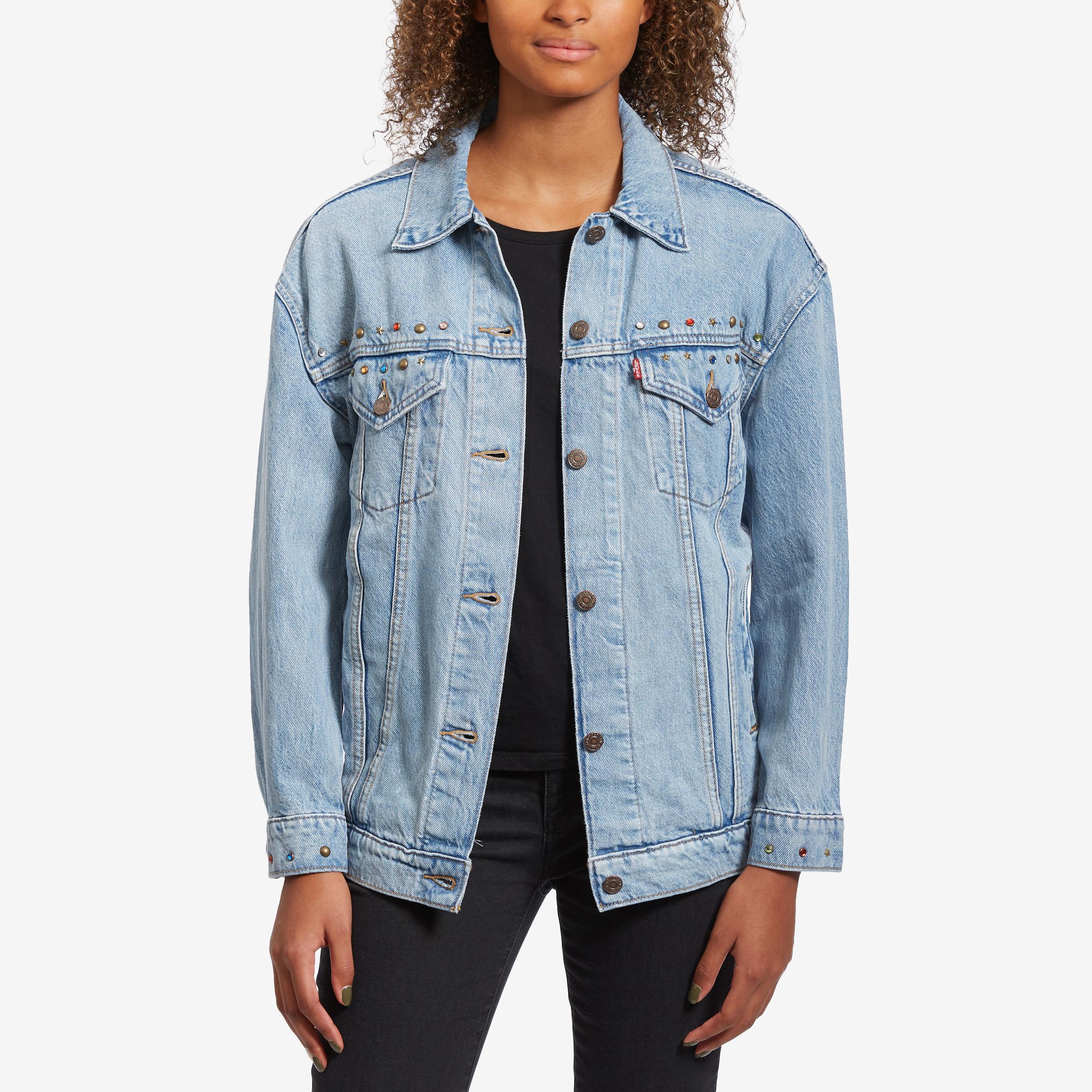 Women's Baggy Trucker Jacket