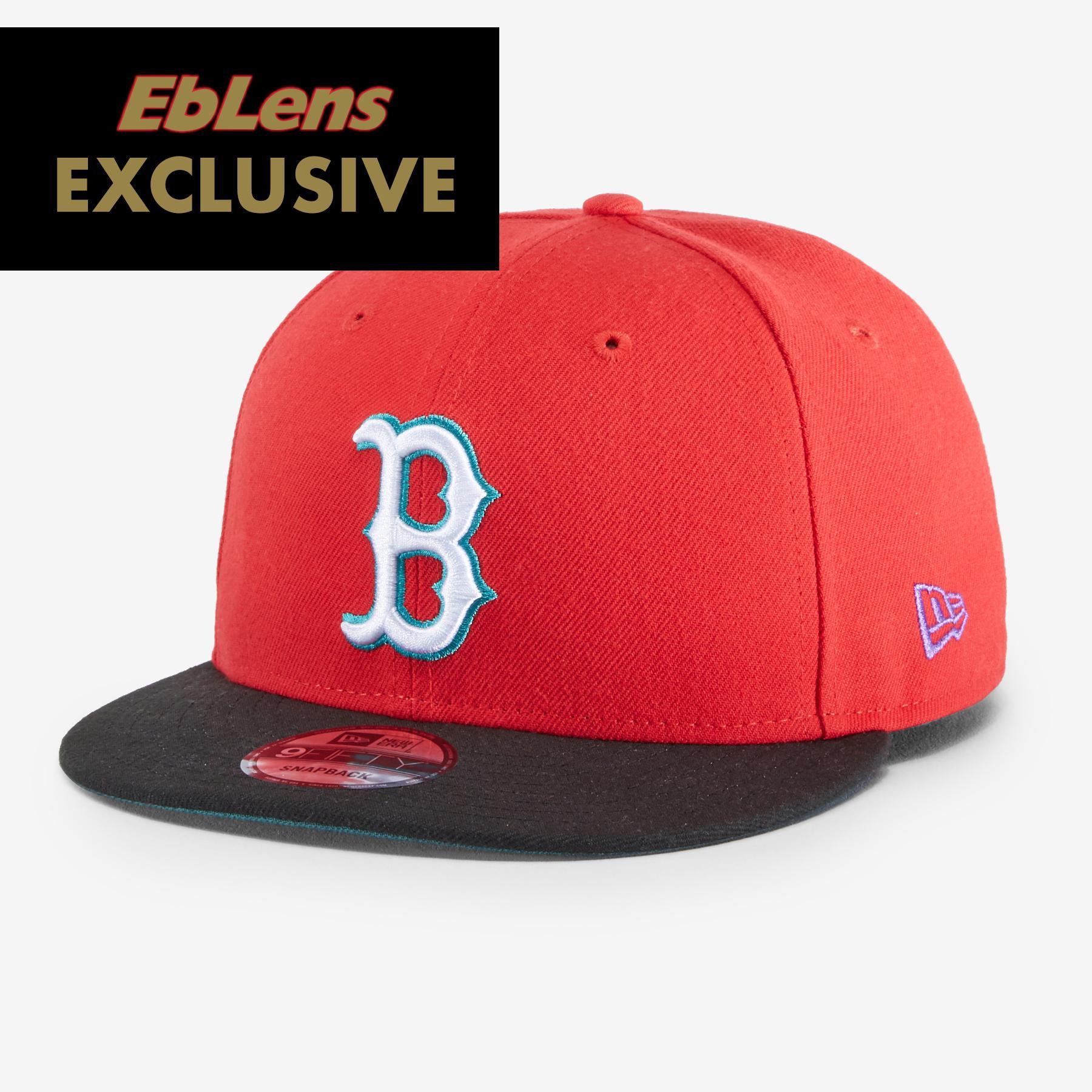 New Era X Eblens Red Sox 9fifty Snapback