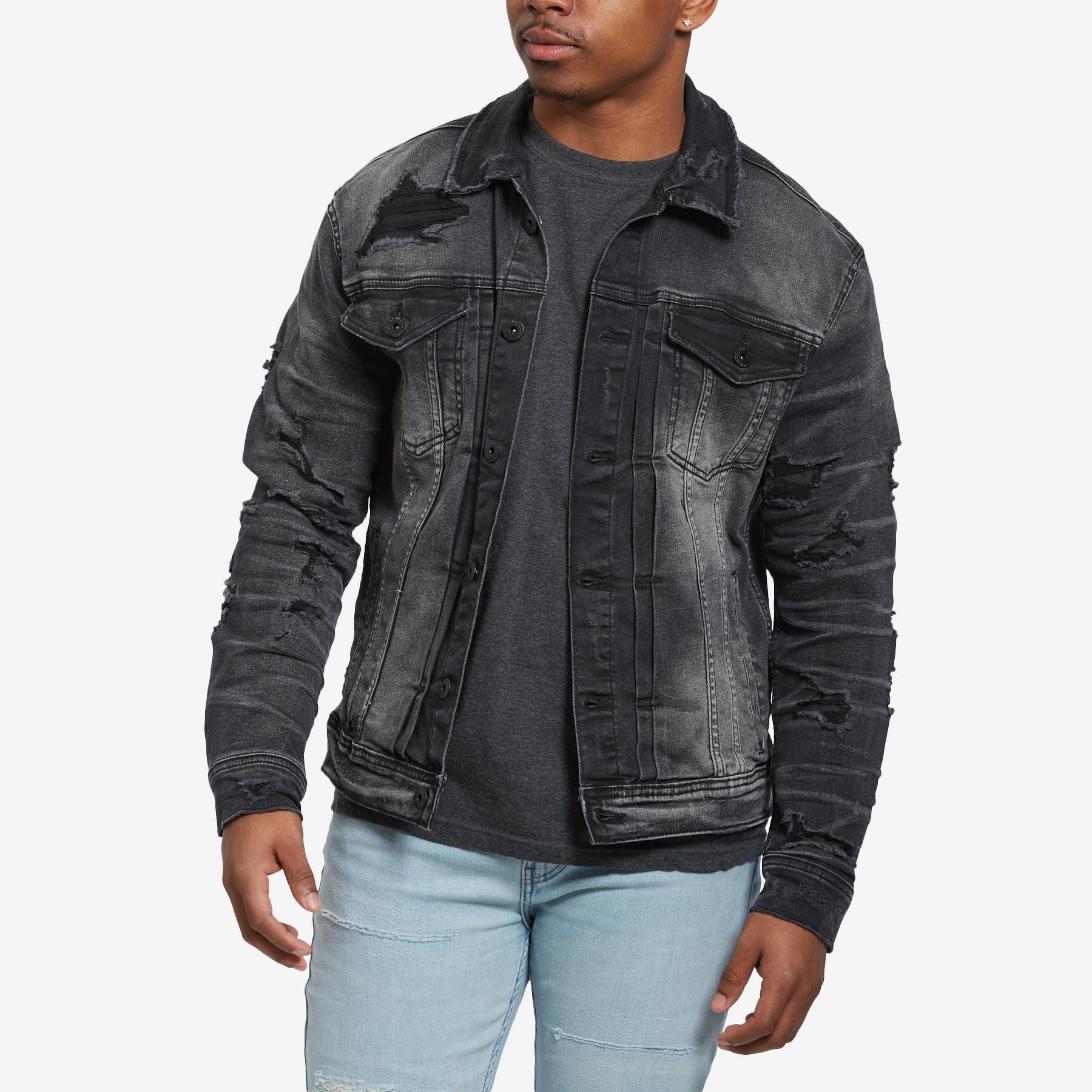Men's Classic Denim Trucker Jacket