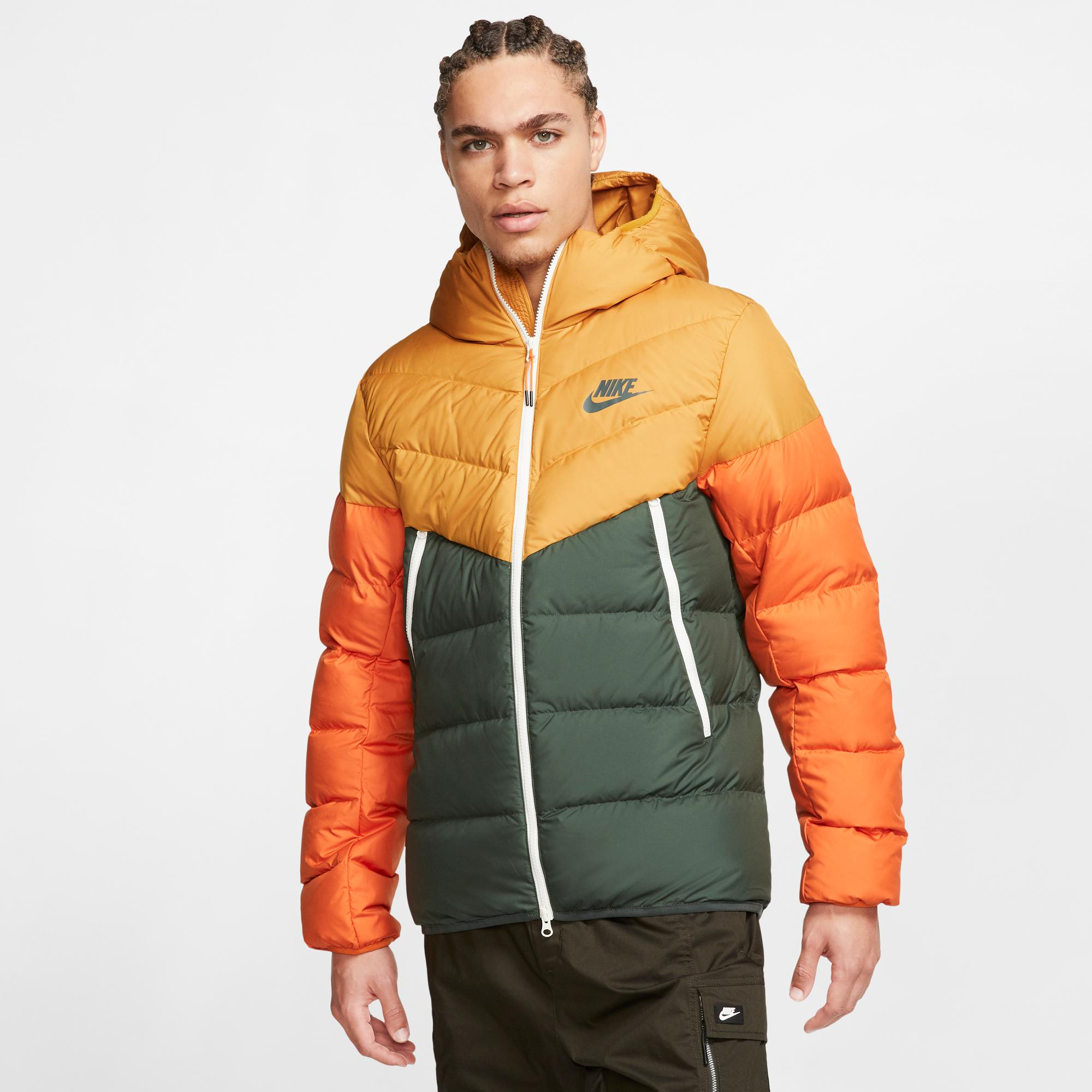 nike sportswear down fill windrunner