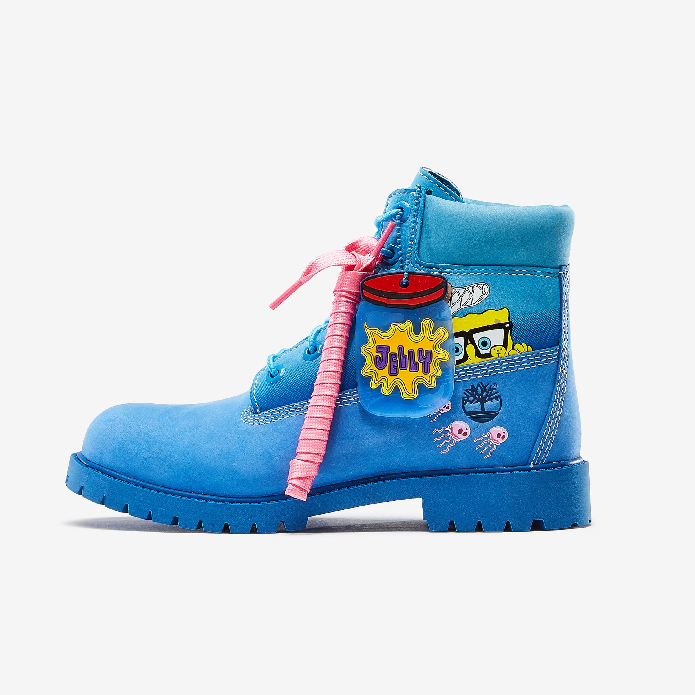 Junior SpongeBob x Timberland 6 Inch Premium Waterproof