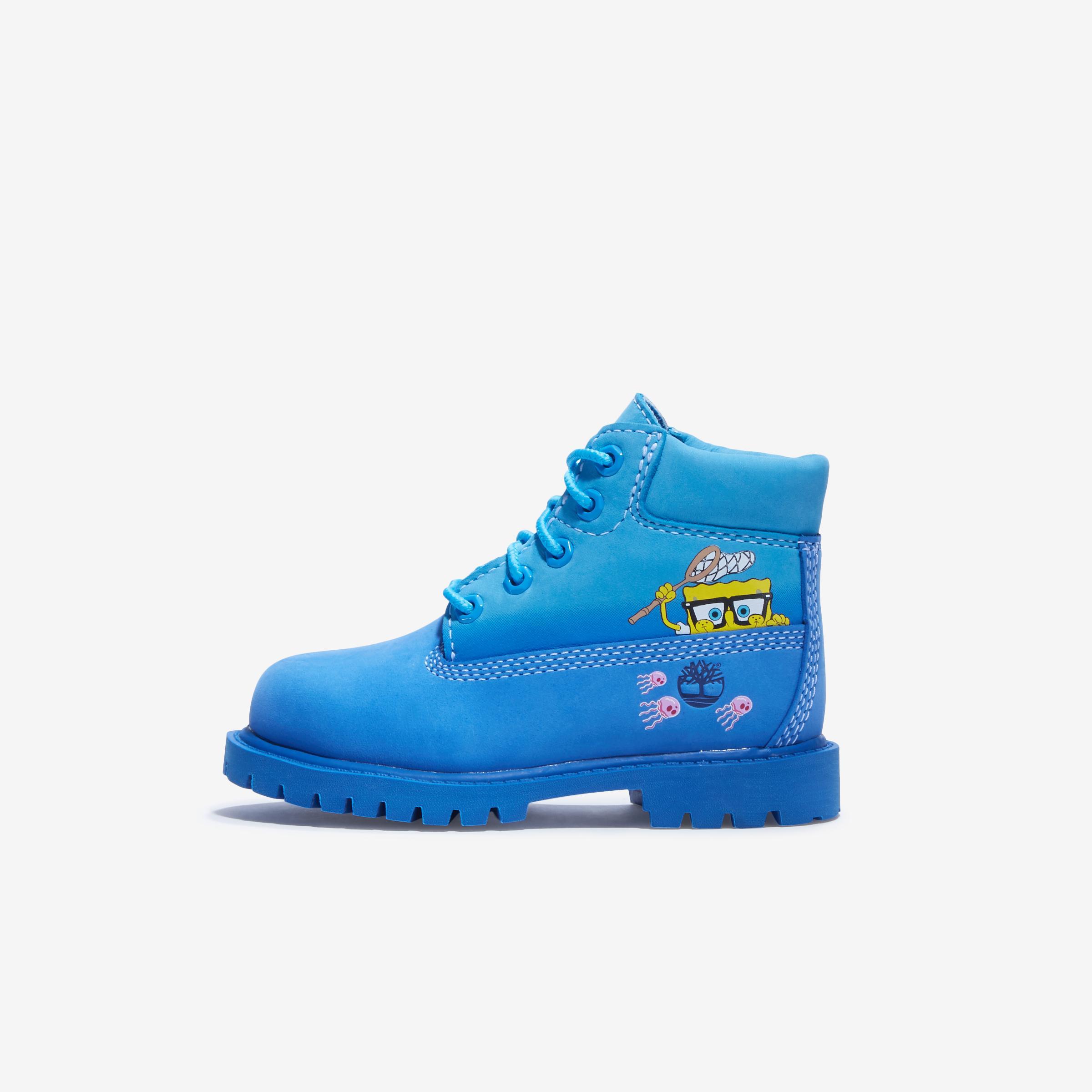 Boy's Infant Spongebob X Timberland 6- Inch Waterproof Boots