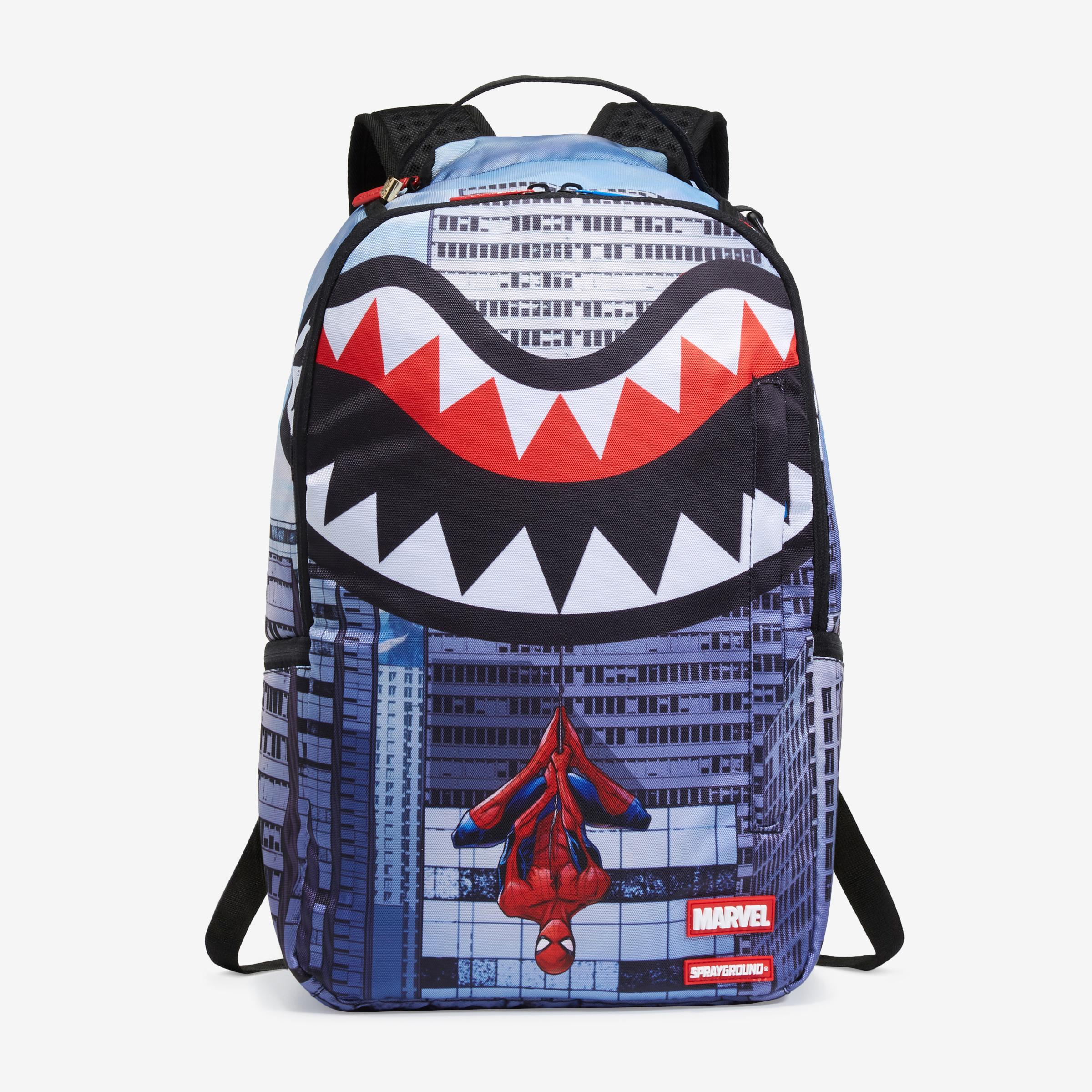Upside Down Spiderman Backpack