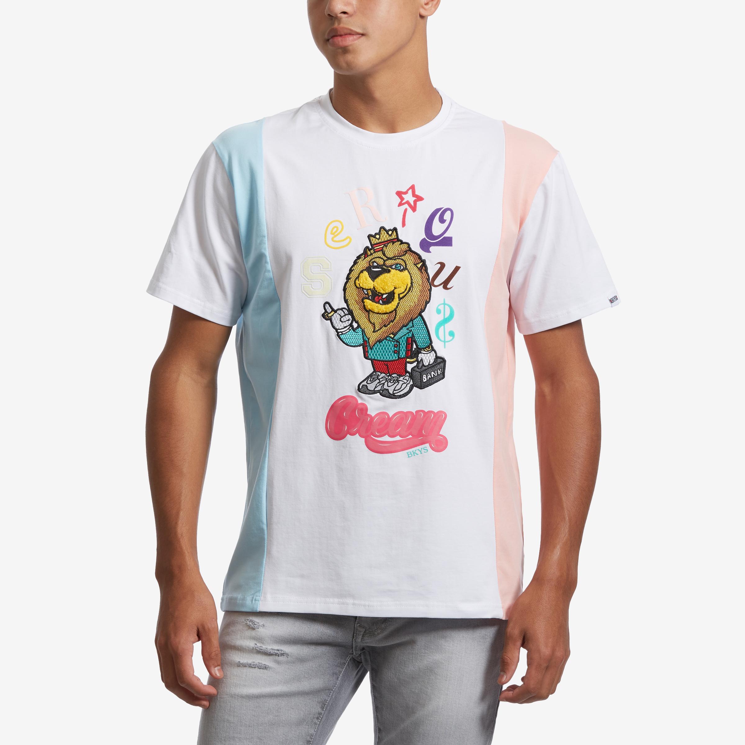 Men's Serious Cream T- Shirt