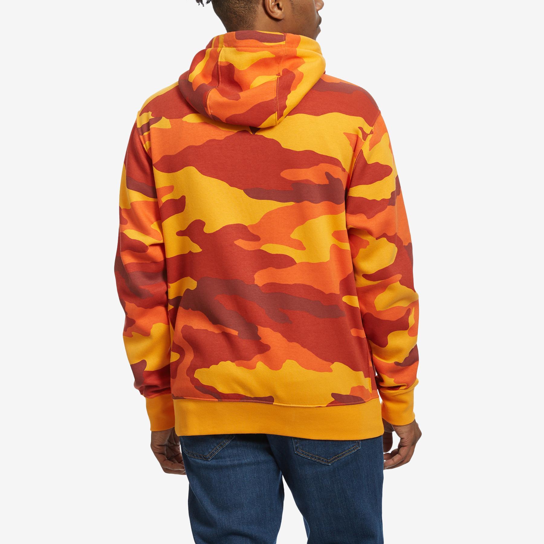 Nike Men/'s Sportswear Club Fleece Camo Full Zip Hoodie Size Large BV3622-886