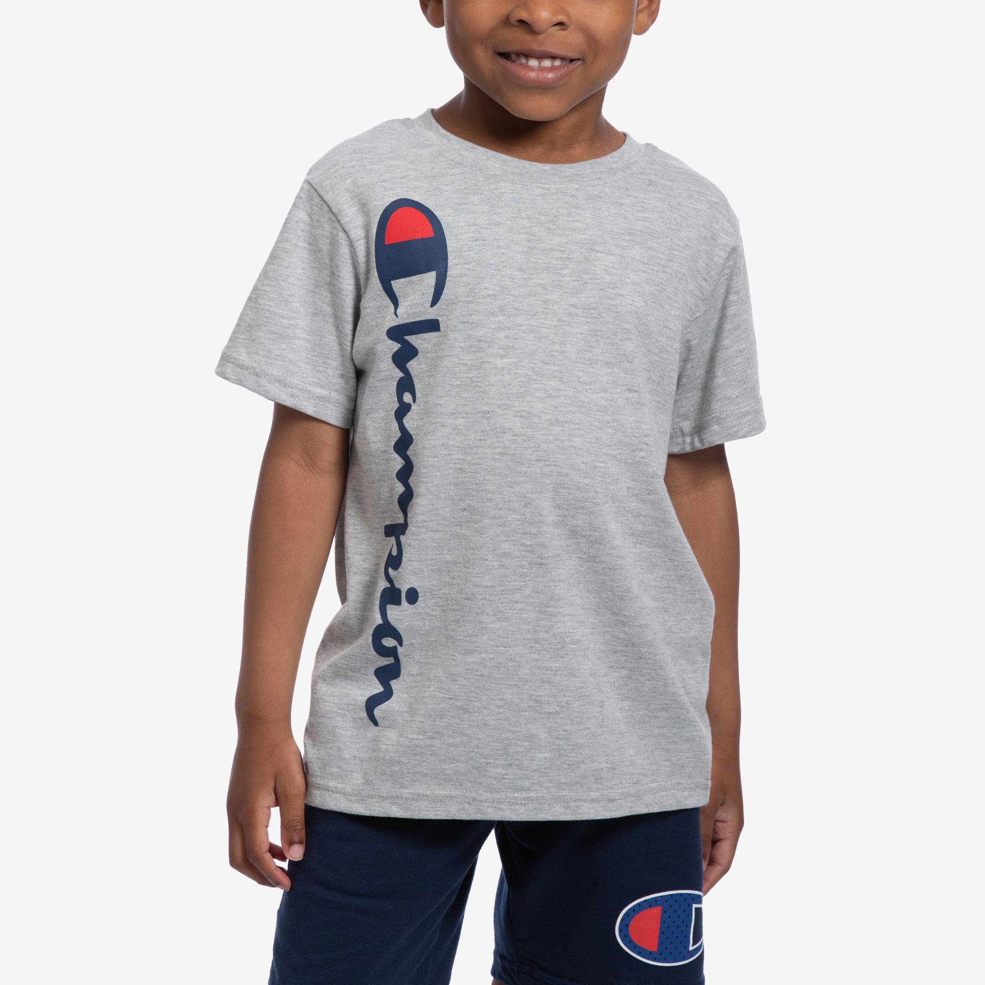 Vertical Script T- Shirt