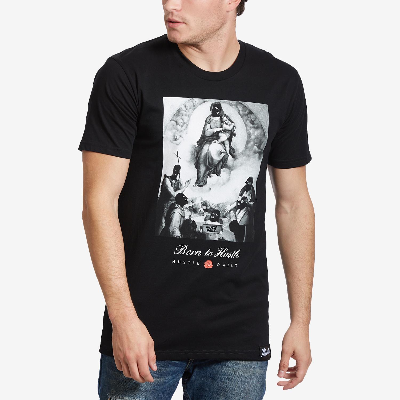 Men's City Of Angels Born To Hustle T- Shirt
