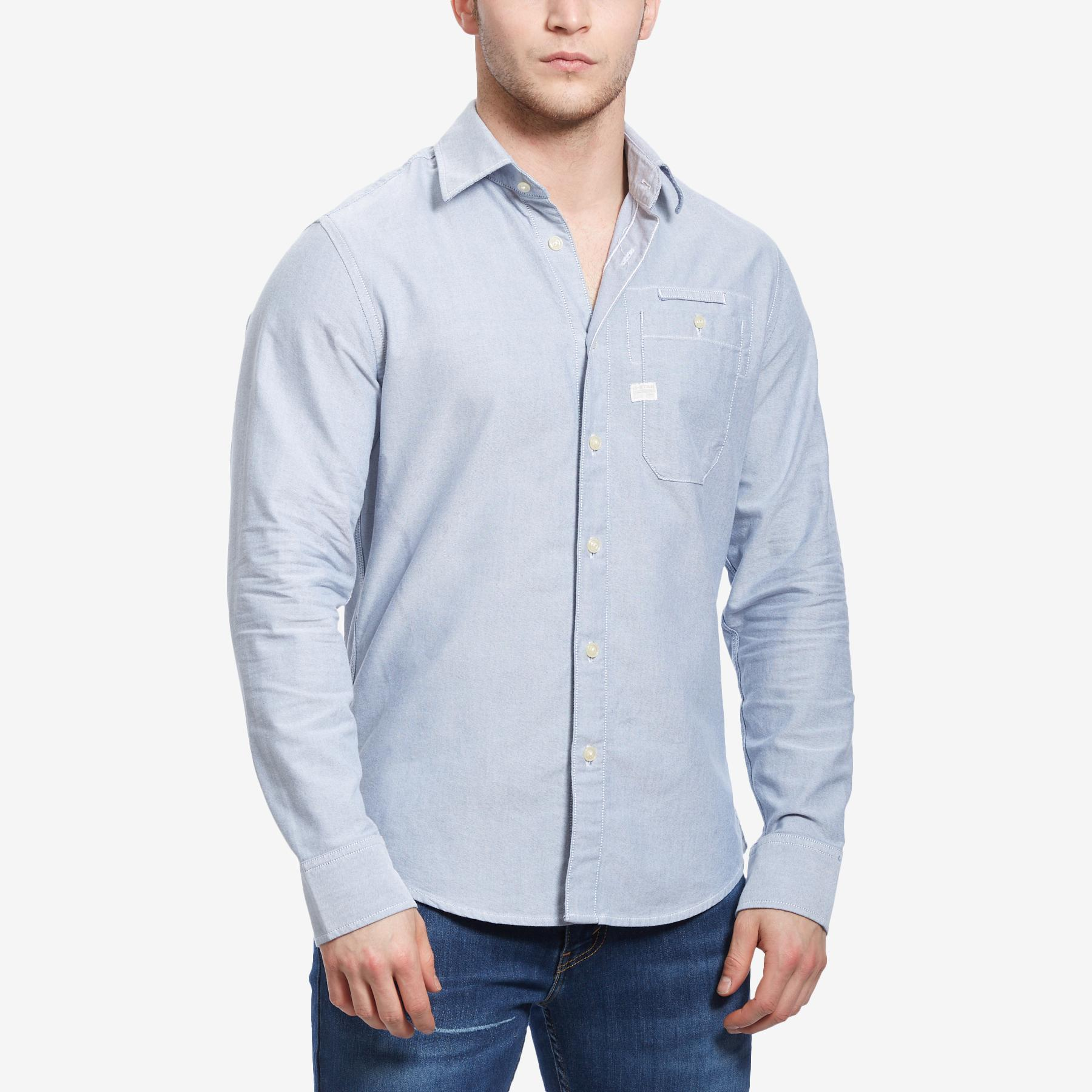 Men's Bristum 1 Pocket Slim Shirt