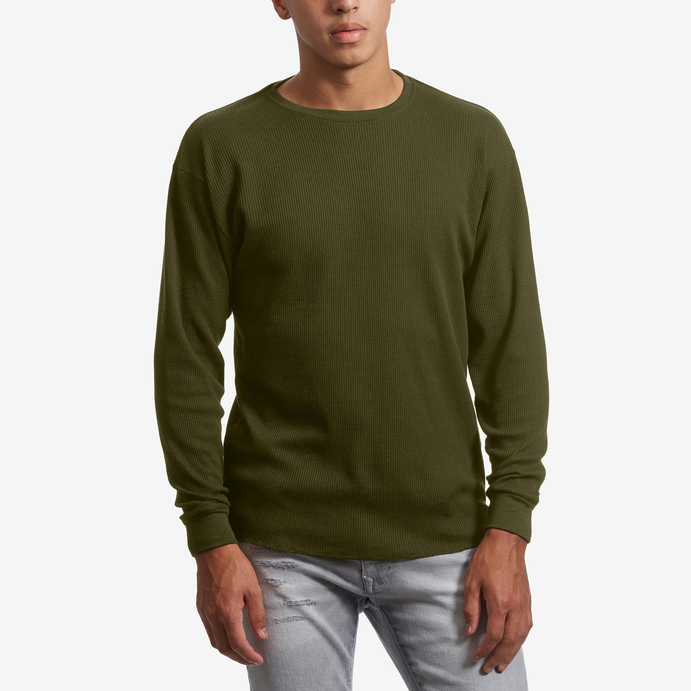Waffle Knit Thermal Shirt