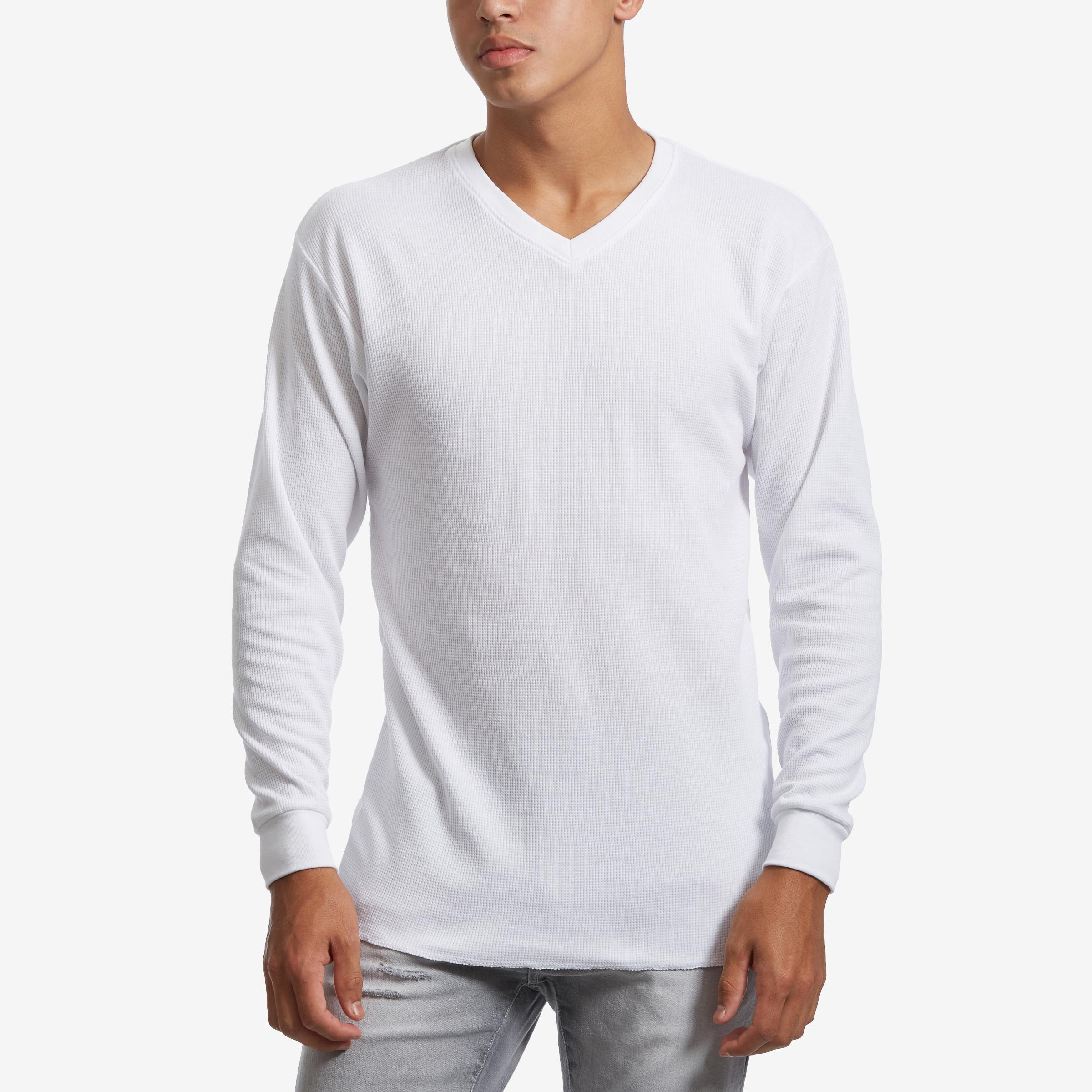 Men's V- Neck Thermal Shirt