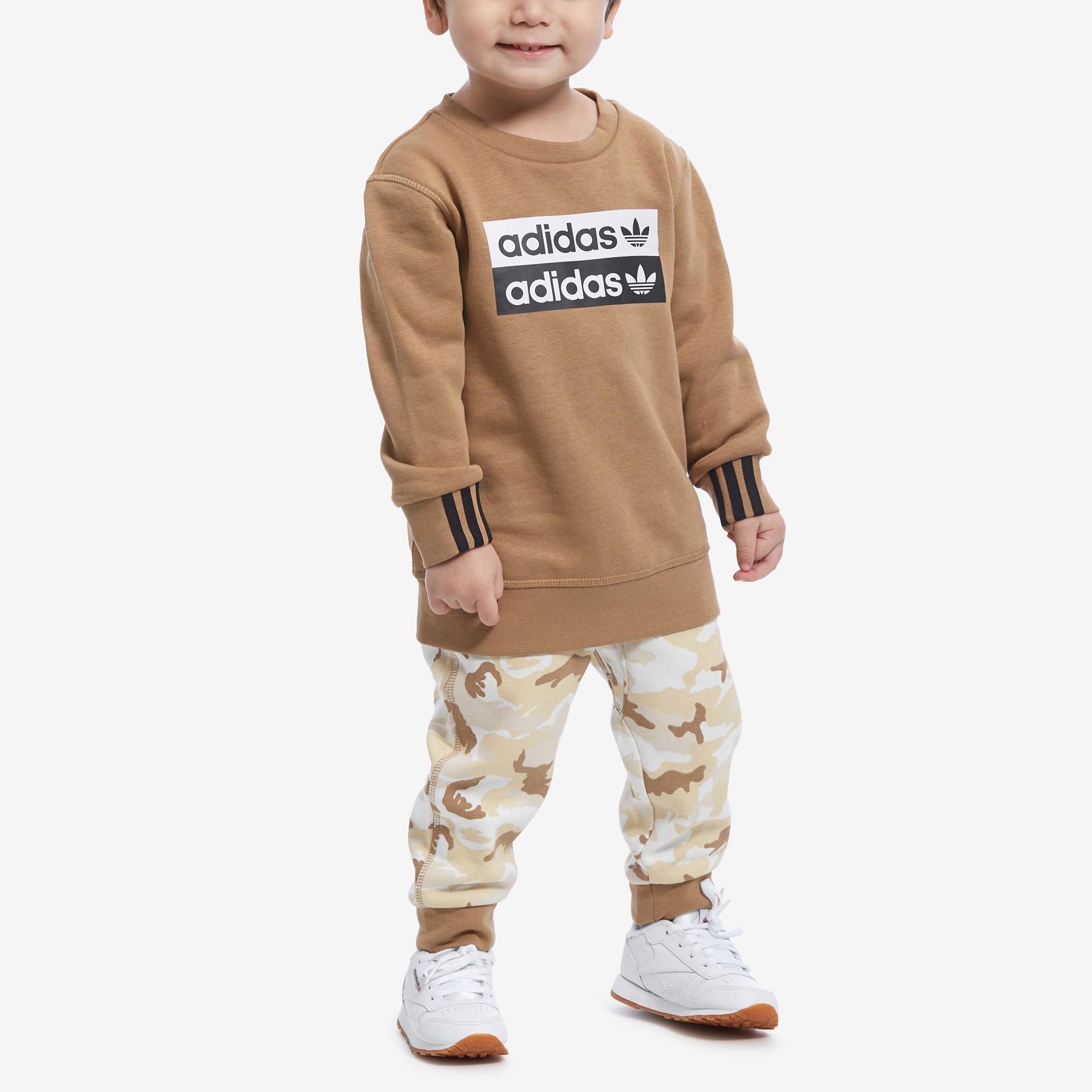 Boy's Preschool R.Y.V.Camouflage Crew Set