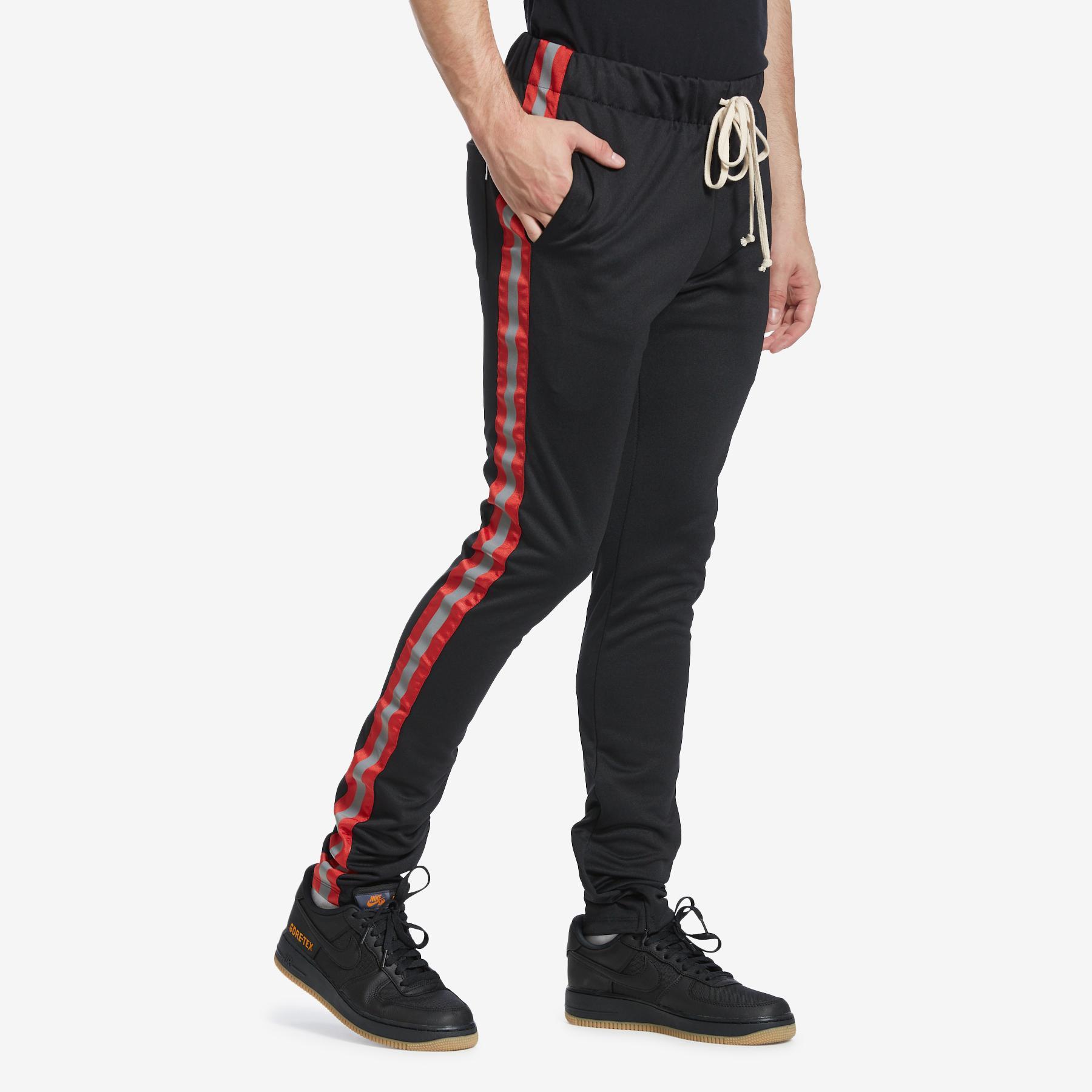 Men's Reflective Track Pants