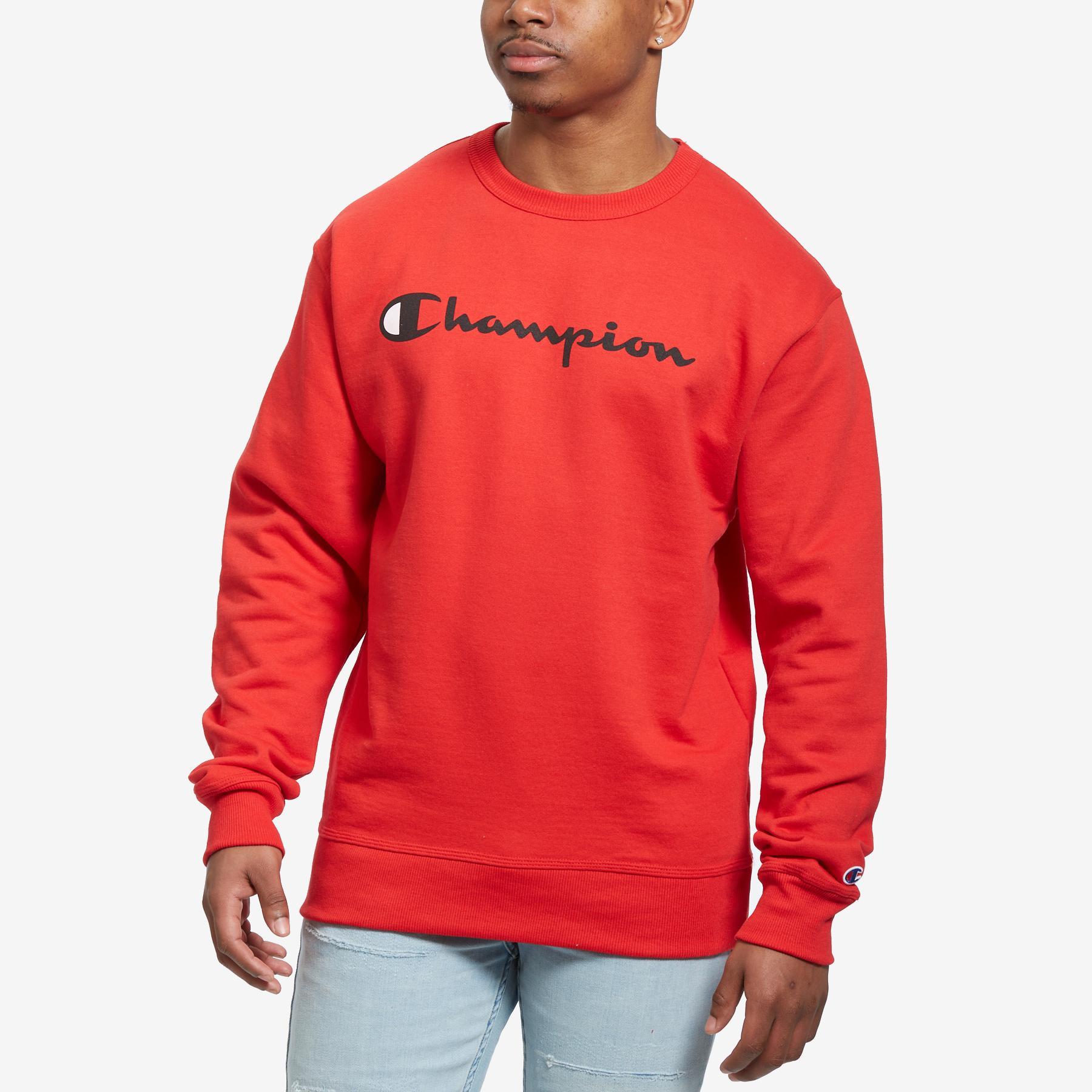 Men's Powerblend Script Crew Sweatshirt