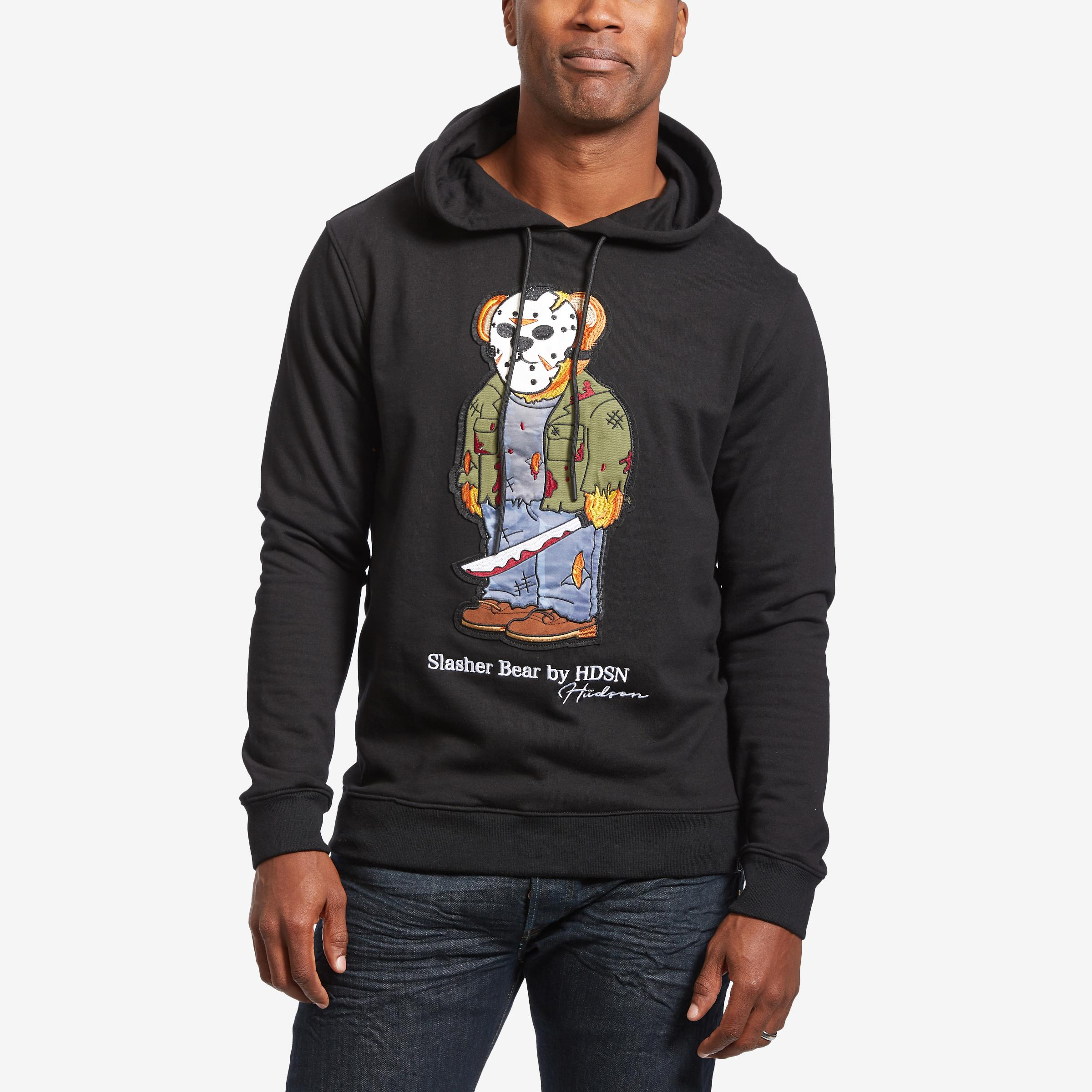 Men's Slasher Bear Hoodie