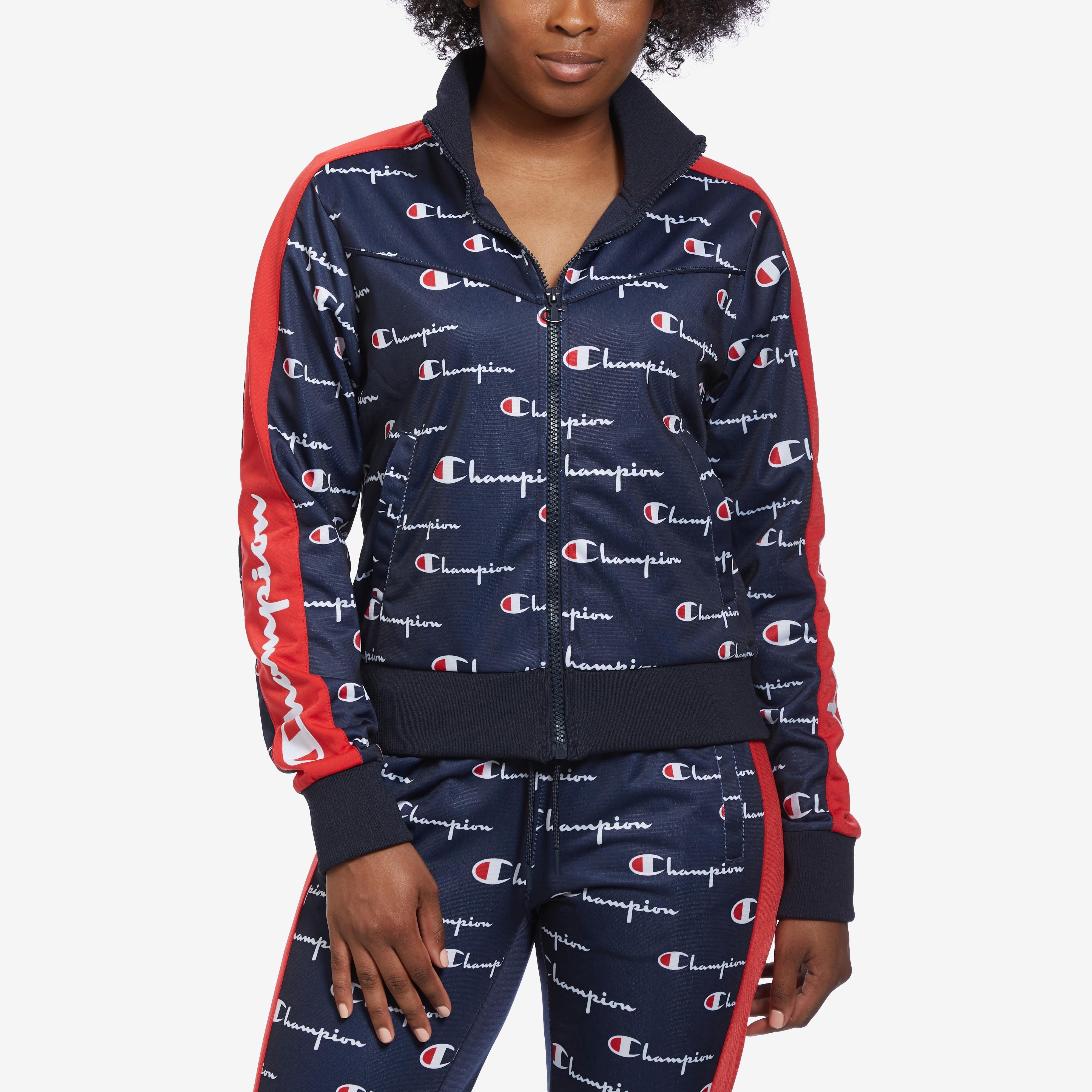 Tricot Track Jacket, All Over Print