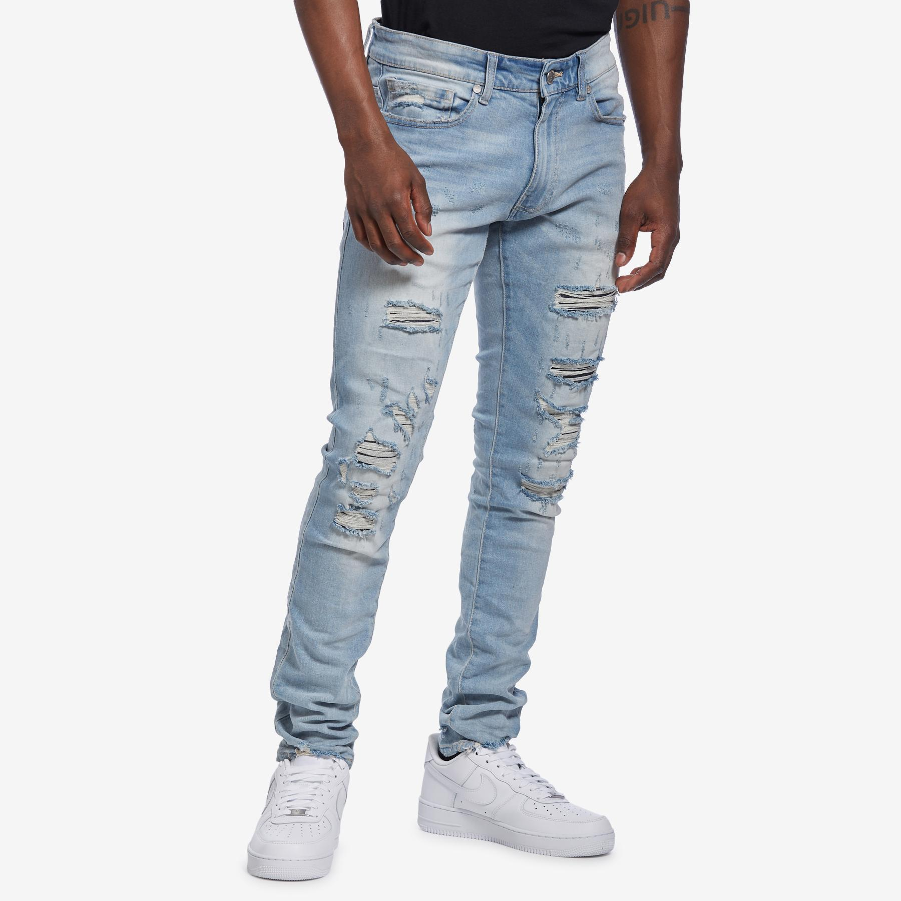 Men's Sean- Crushed Denim