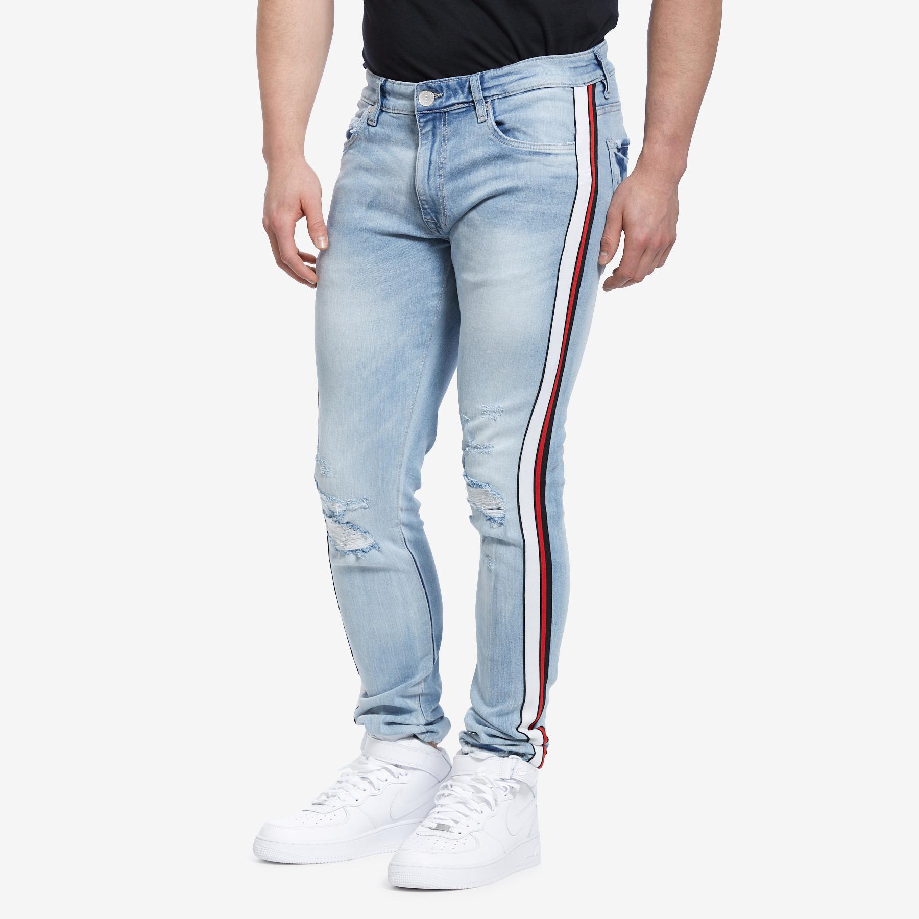 Sean- Sugar Hill Striped Denim
