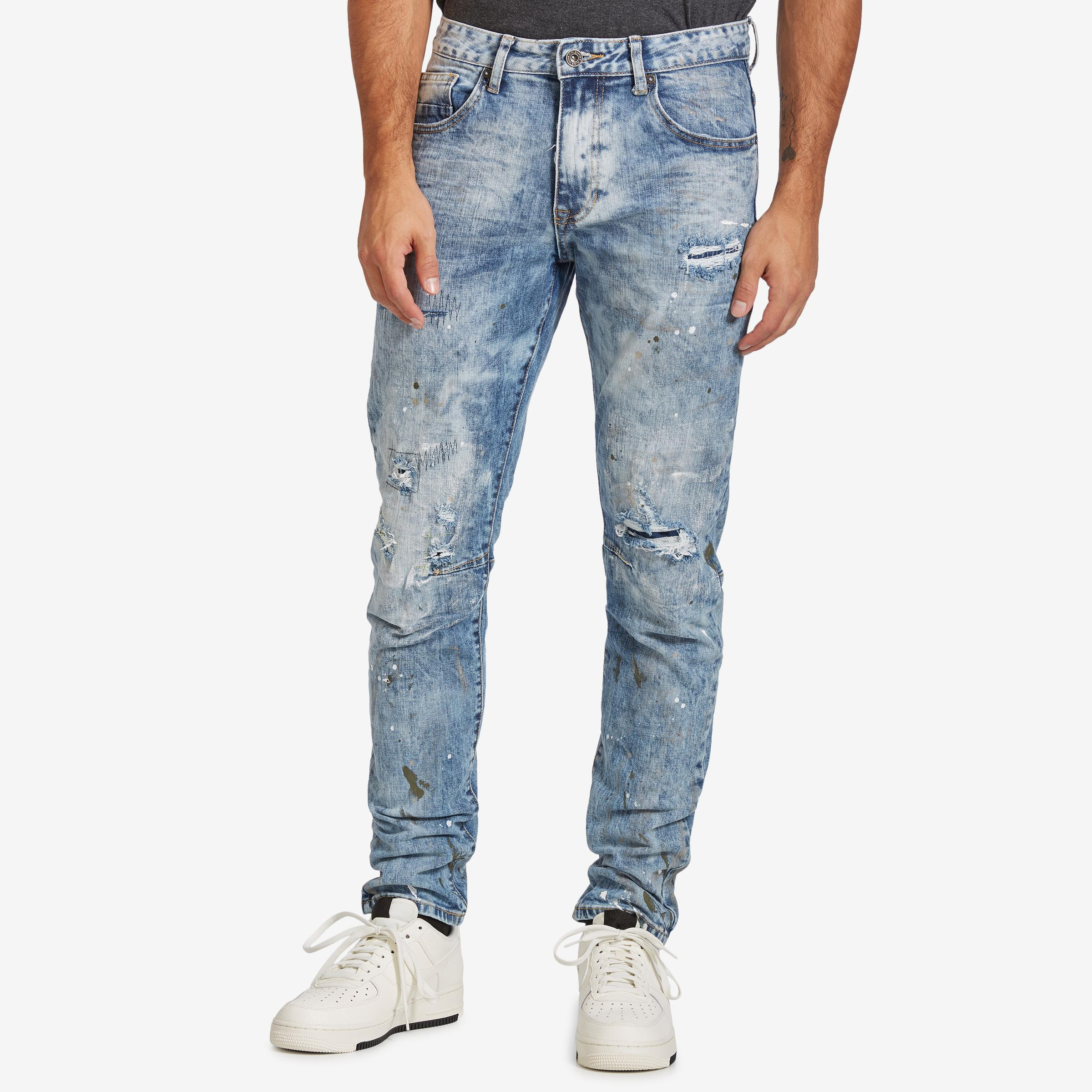 Men's 5 Pocket Relaxed Tapered Jeans