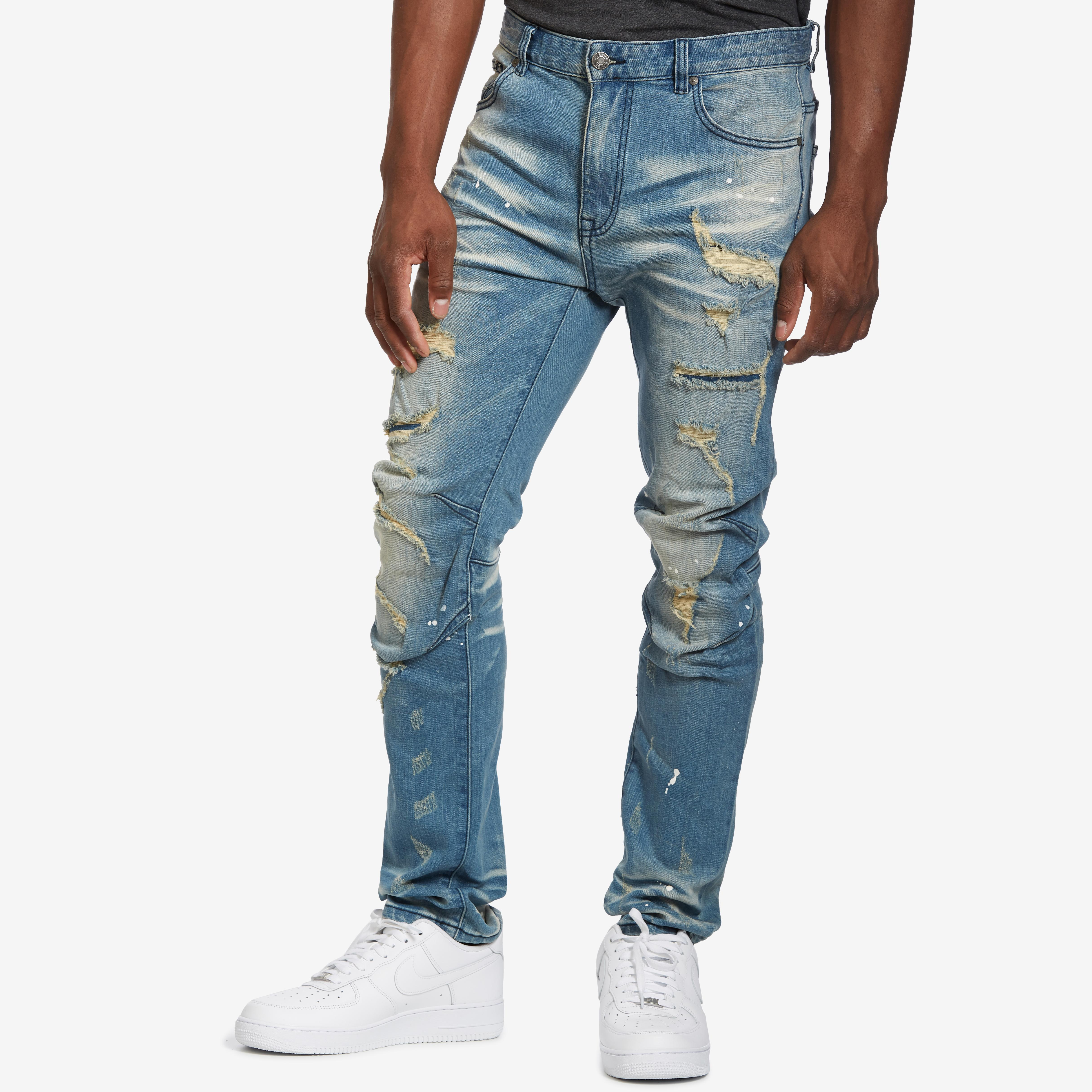 5 Pocket Knee Jeans