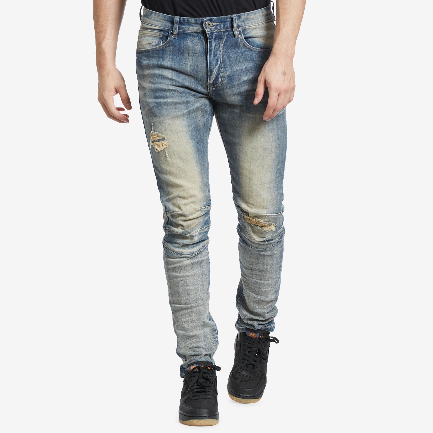 Men's 3d Knee Jeans