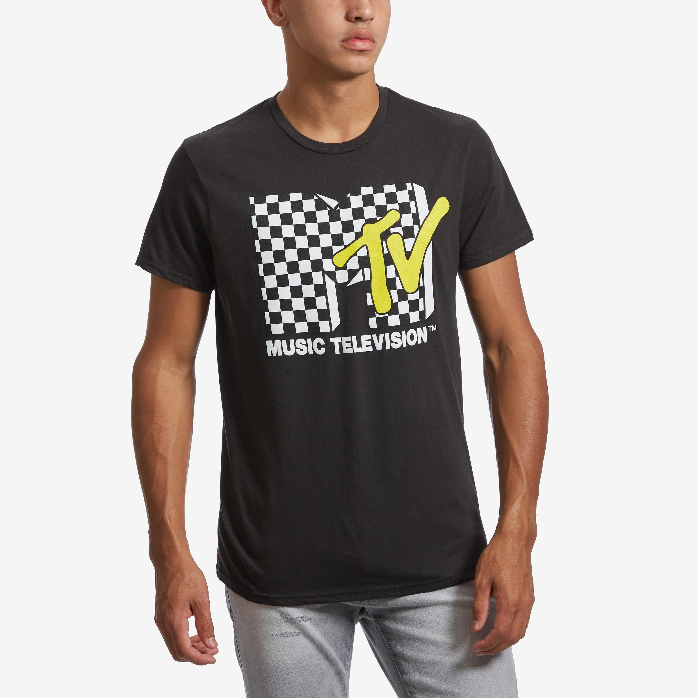 Mtv Check T- Shirt