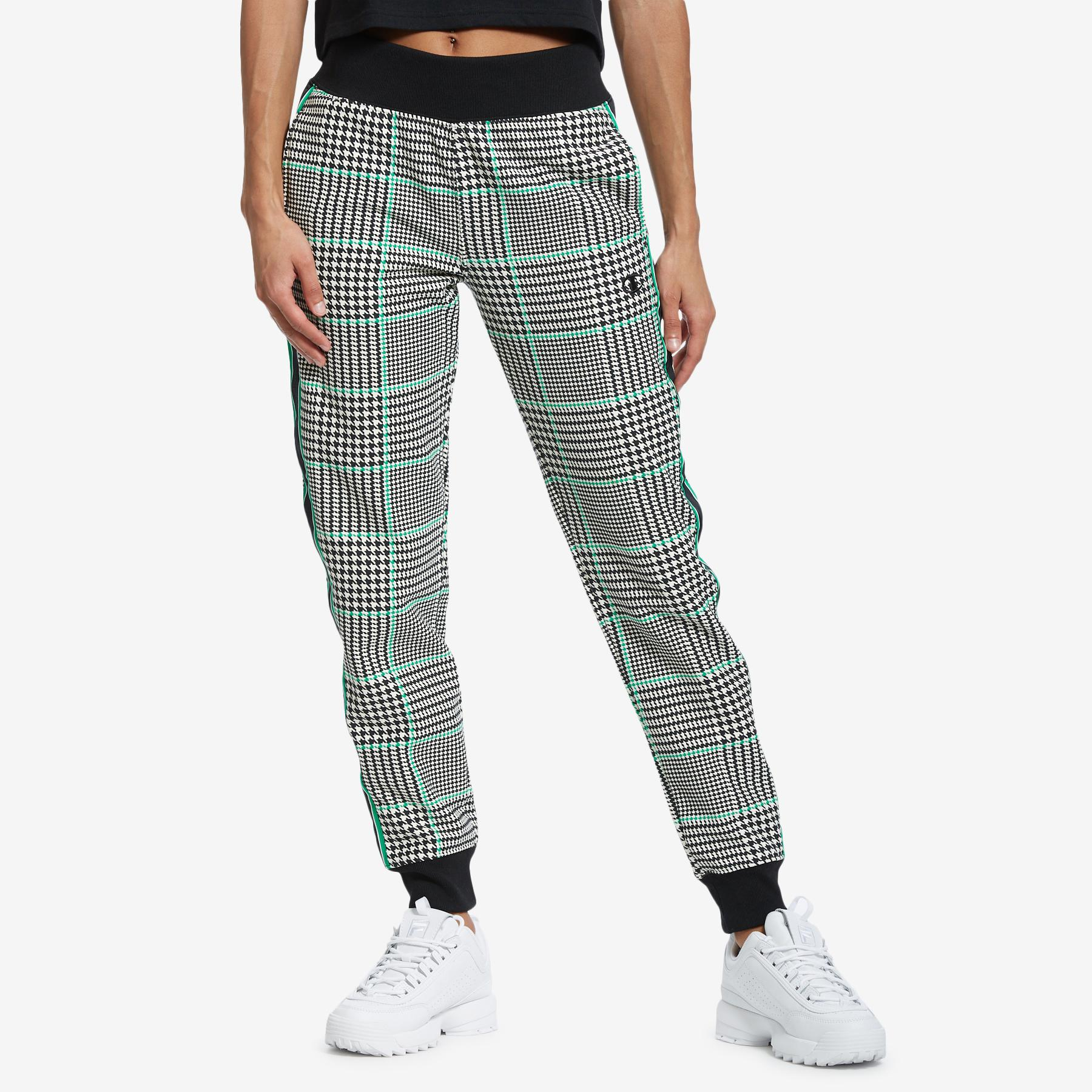 Life Reverse Weave Houndstooth Joggers