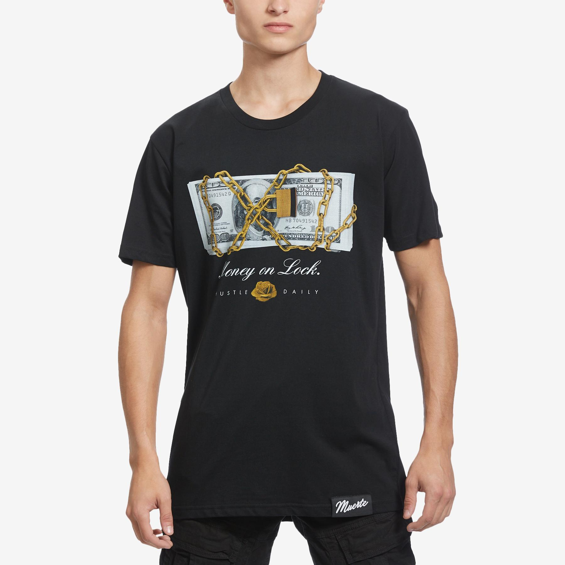Men's Money On Lock T- Shirt