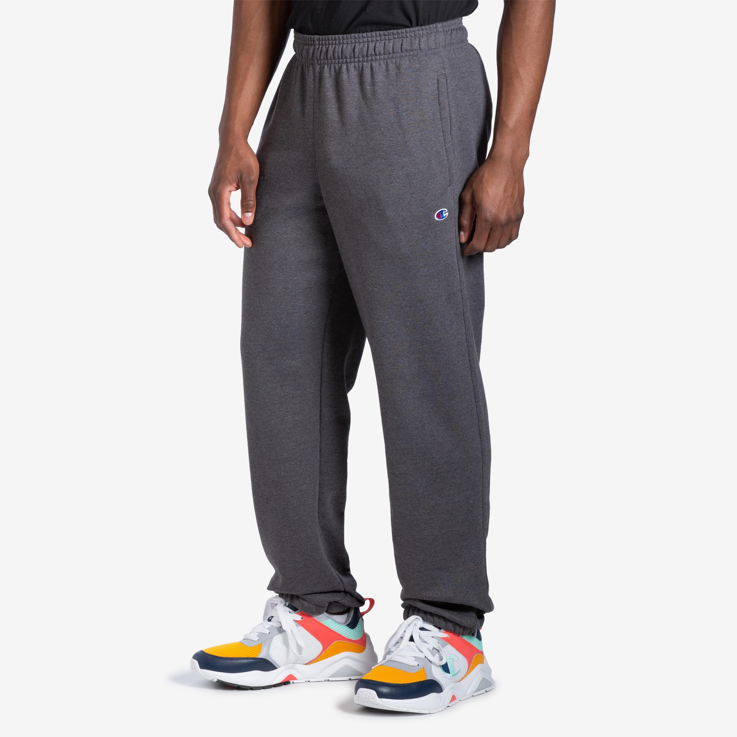 Men's Powerblend Sweats Relaxed Bottom Pants