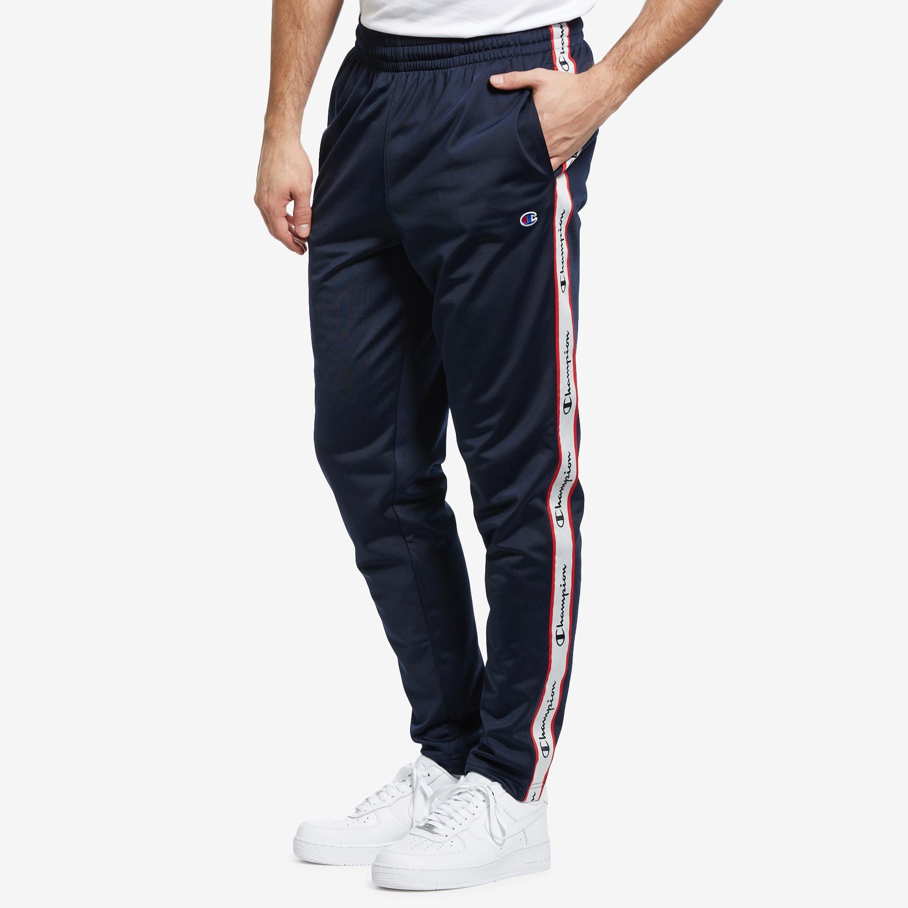 Men's Track Pants, Logo Side Taping