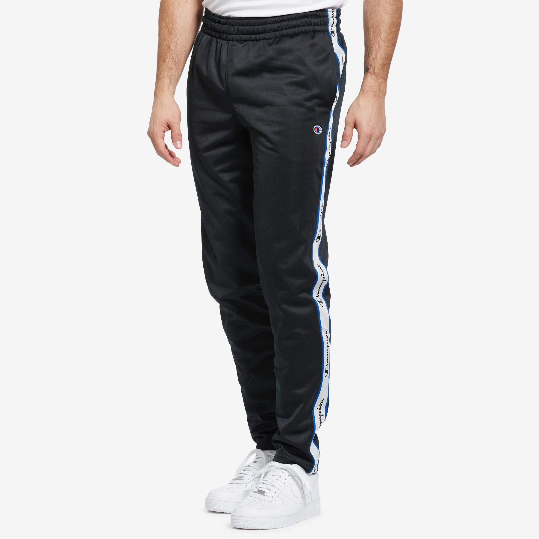 Men's Track Pants, Logo Side Taping