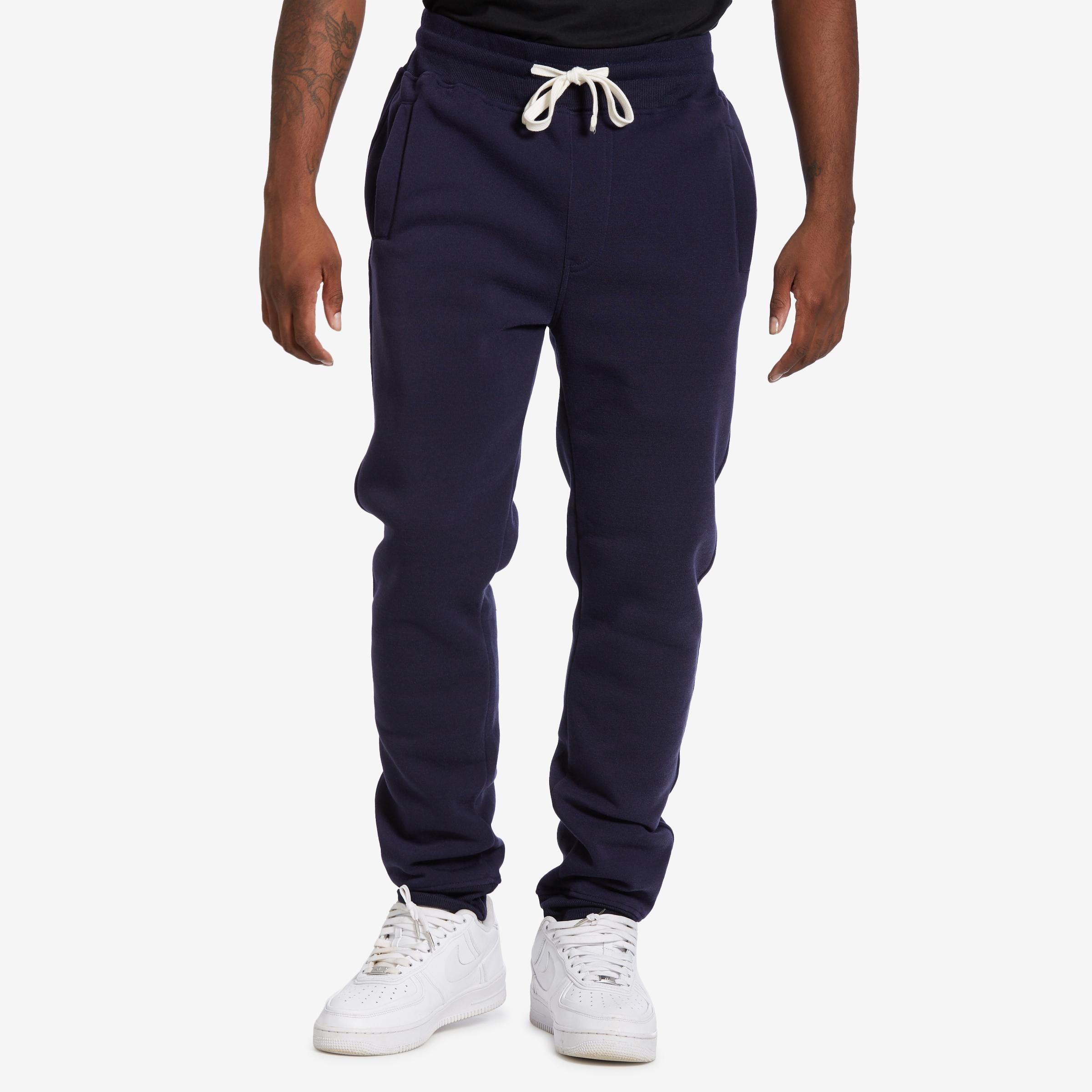 Men's Solid Fleece Jogger