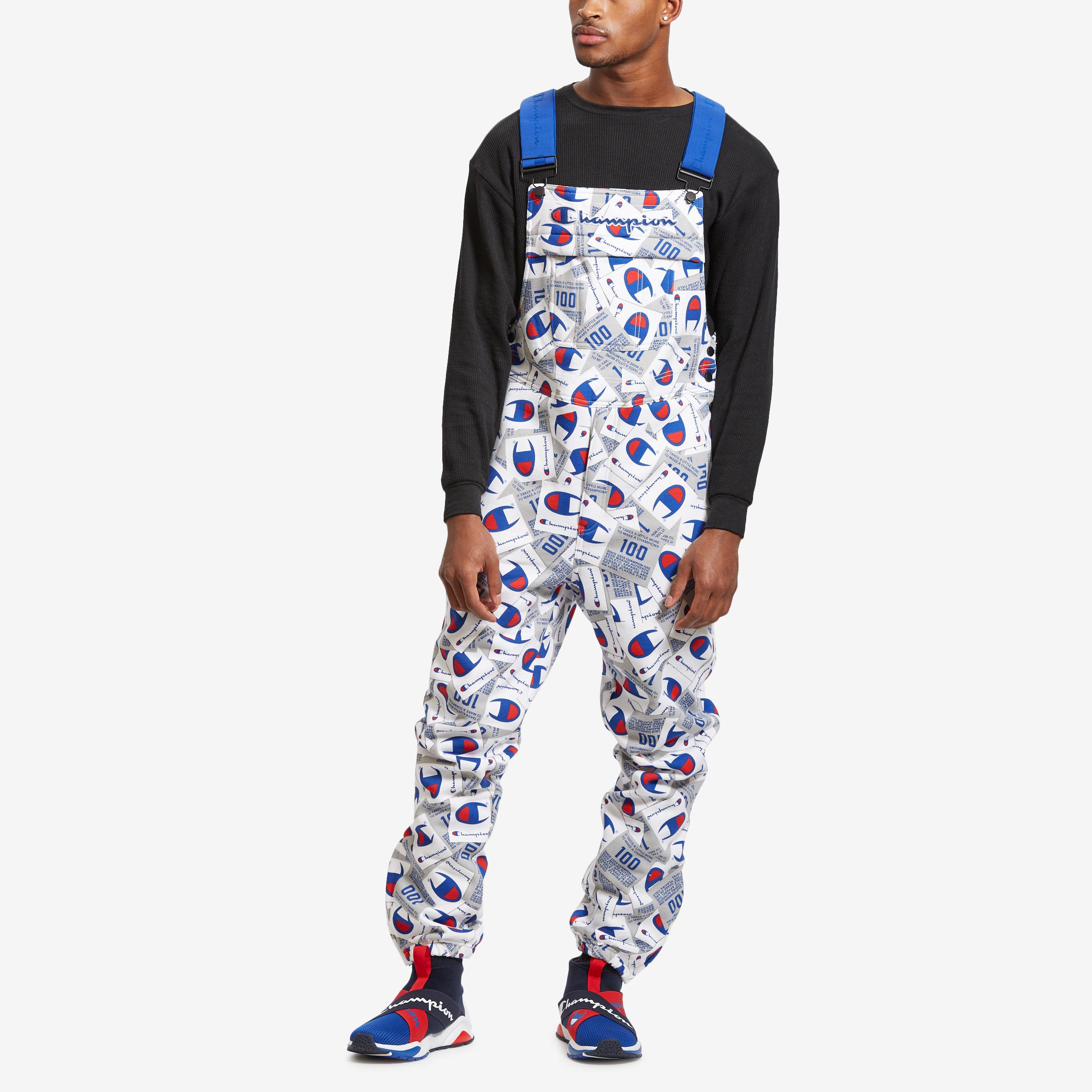 Men's Super Fleece Overalls