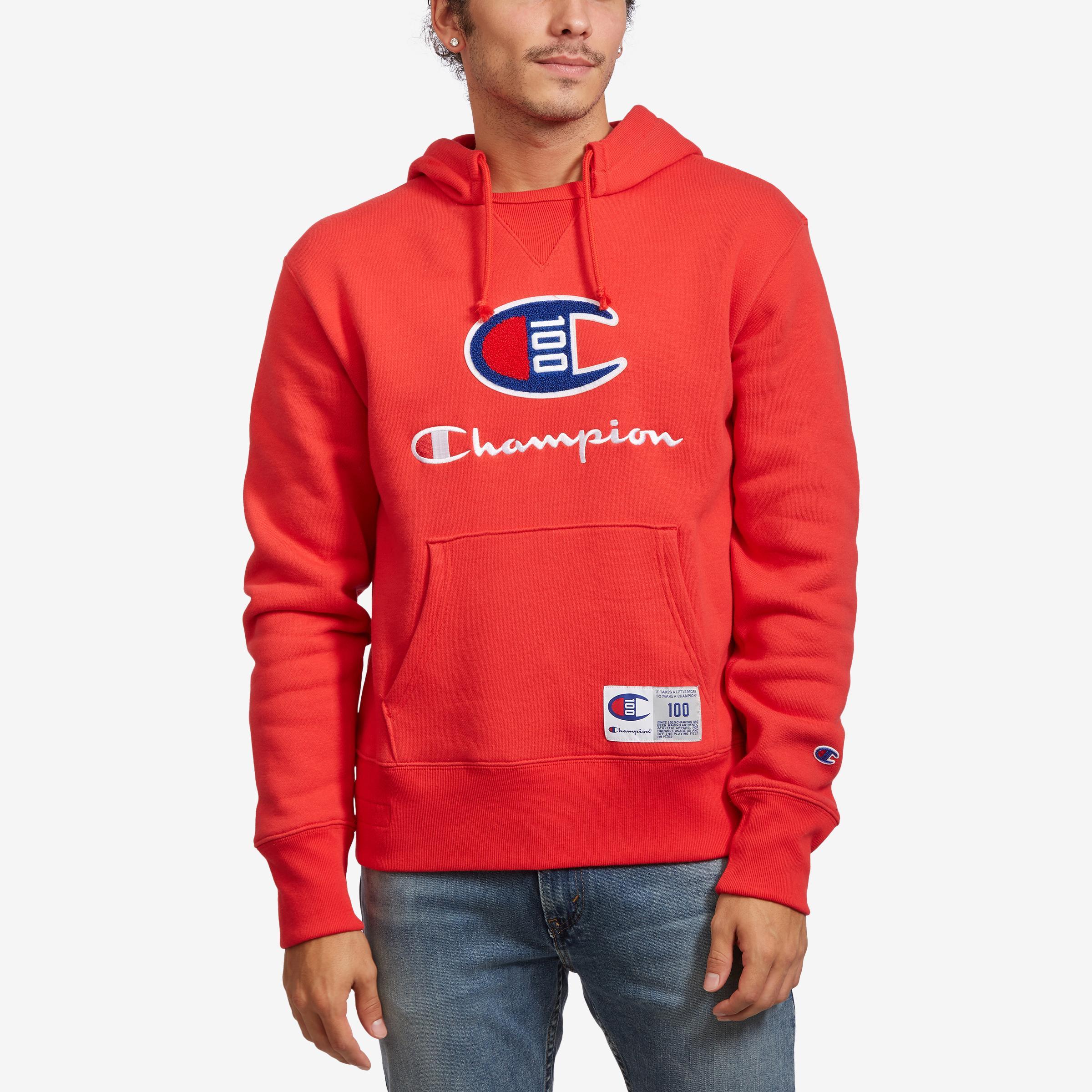 Century Collection Hoodie, C100 Felt Logo