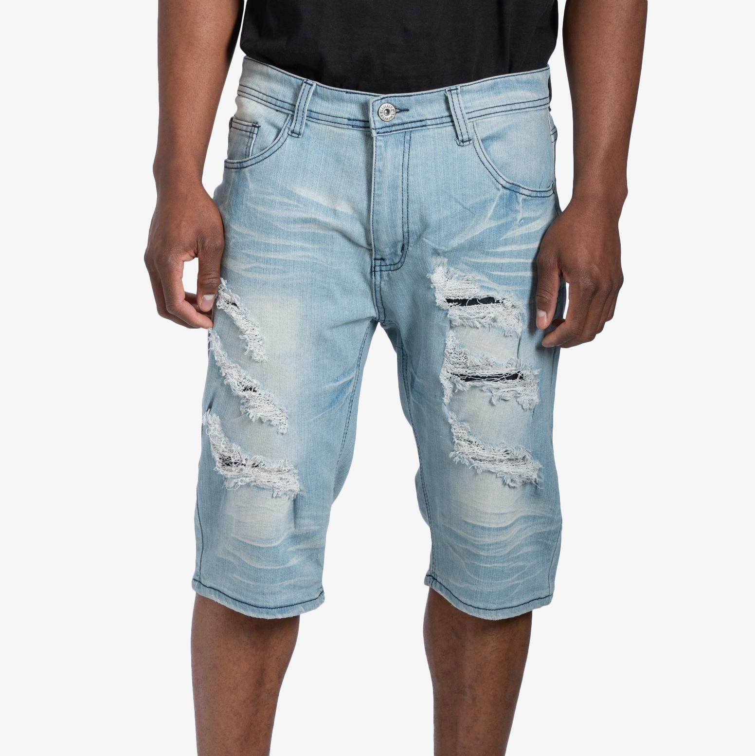 Men's Five Pocket Denim Shorts