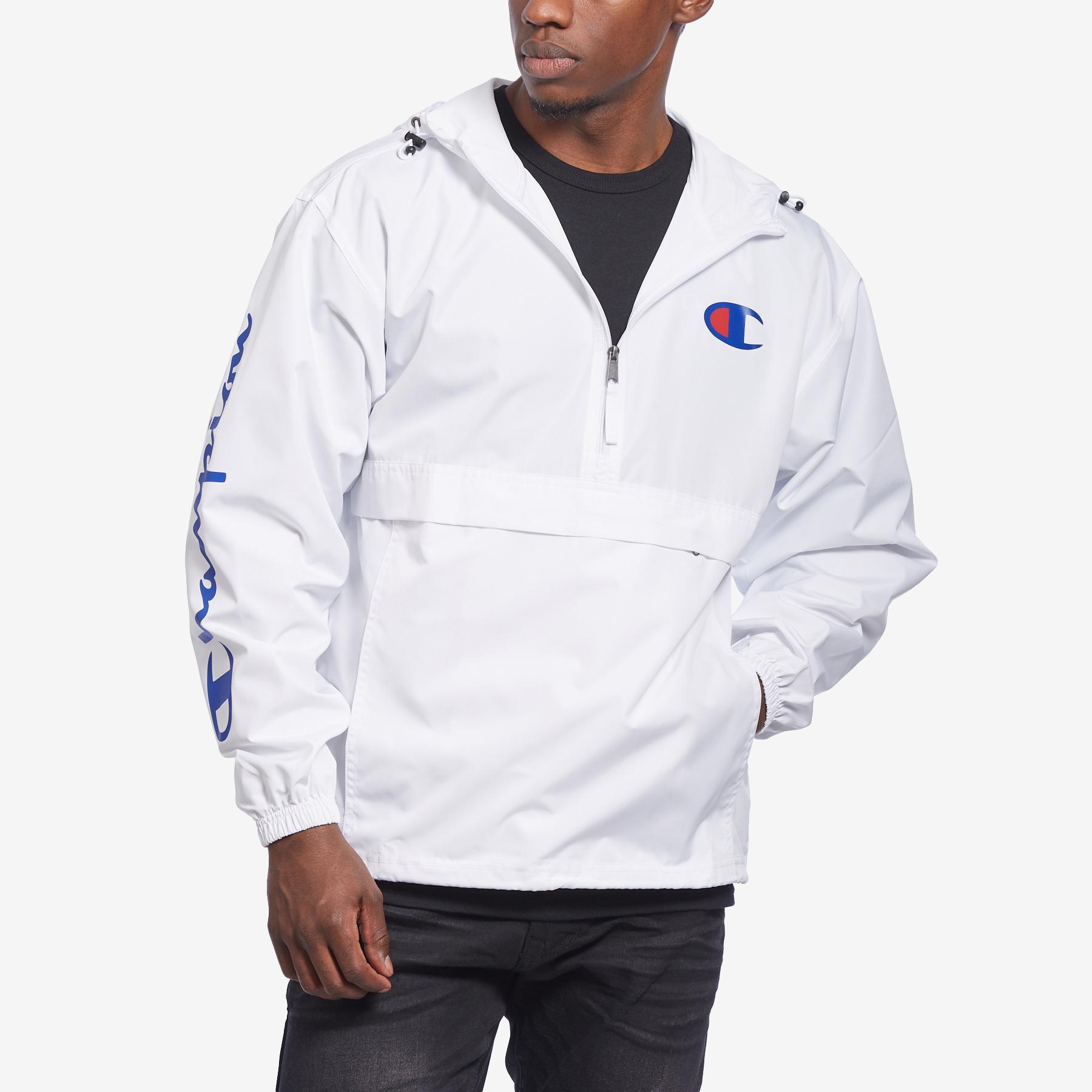 Men's Packable Jacket, C Logo