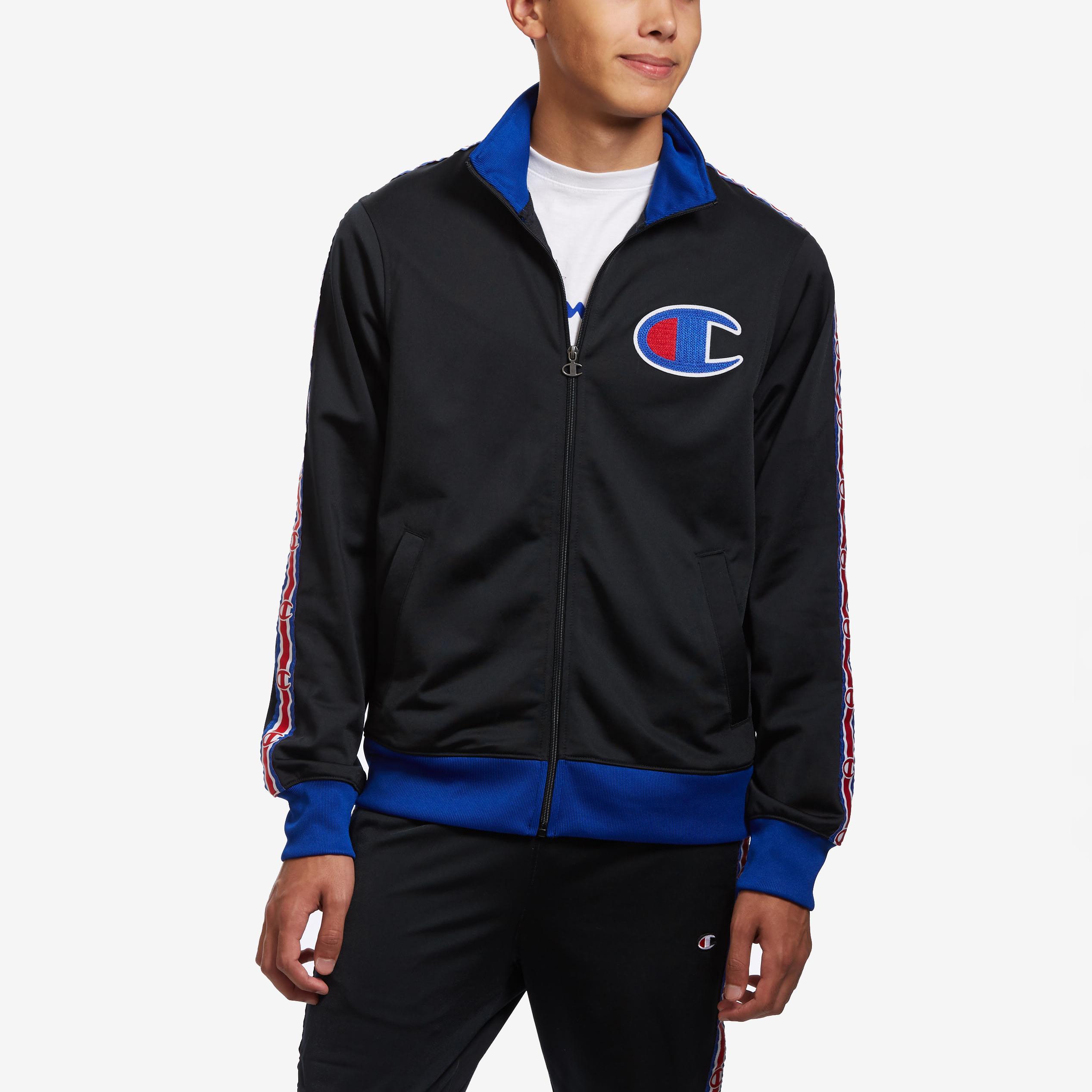 Life Track Jacket, Chain Stitch Big C Logo
