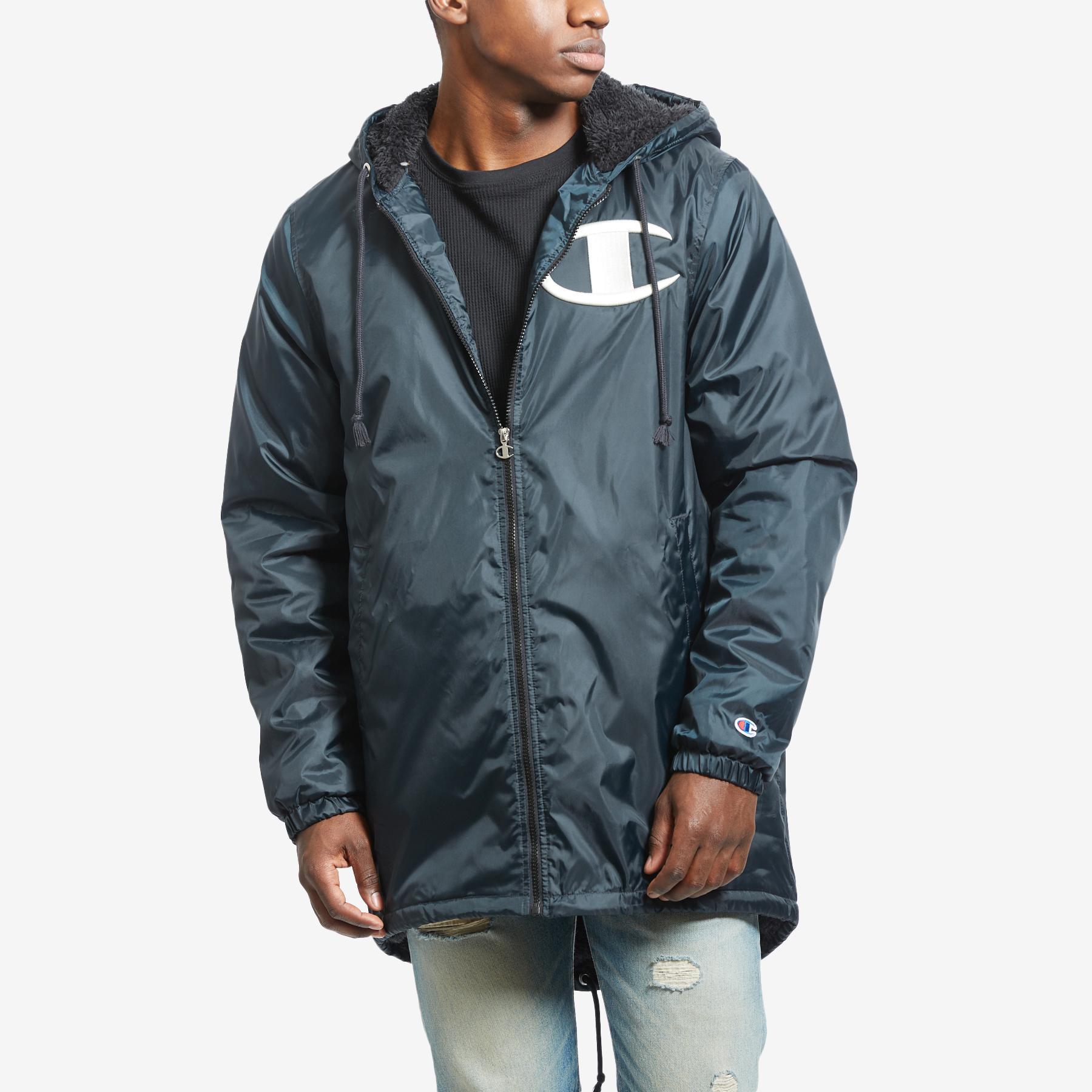 Men's Life Sherpa- Lined Stadium Jacket