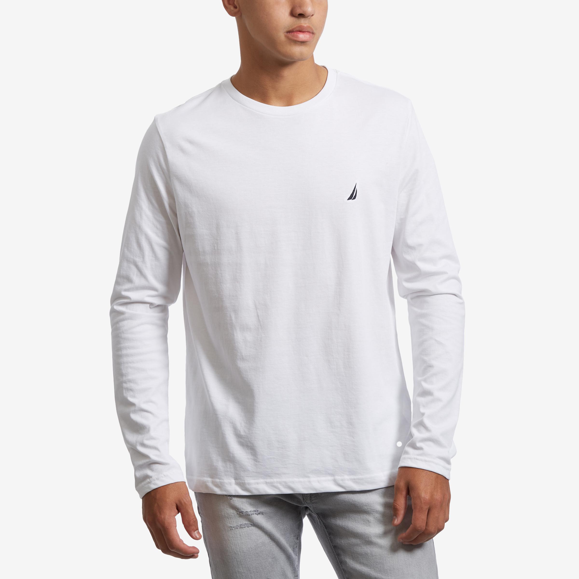 Long Sleeve Crew Neck T- Shirt