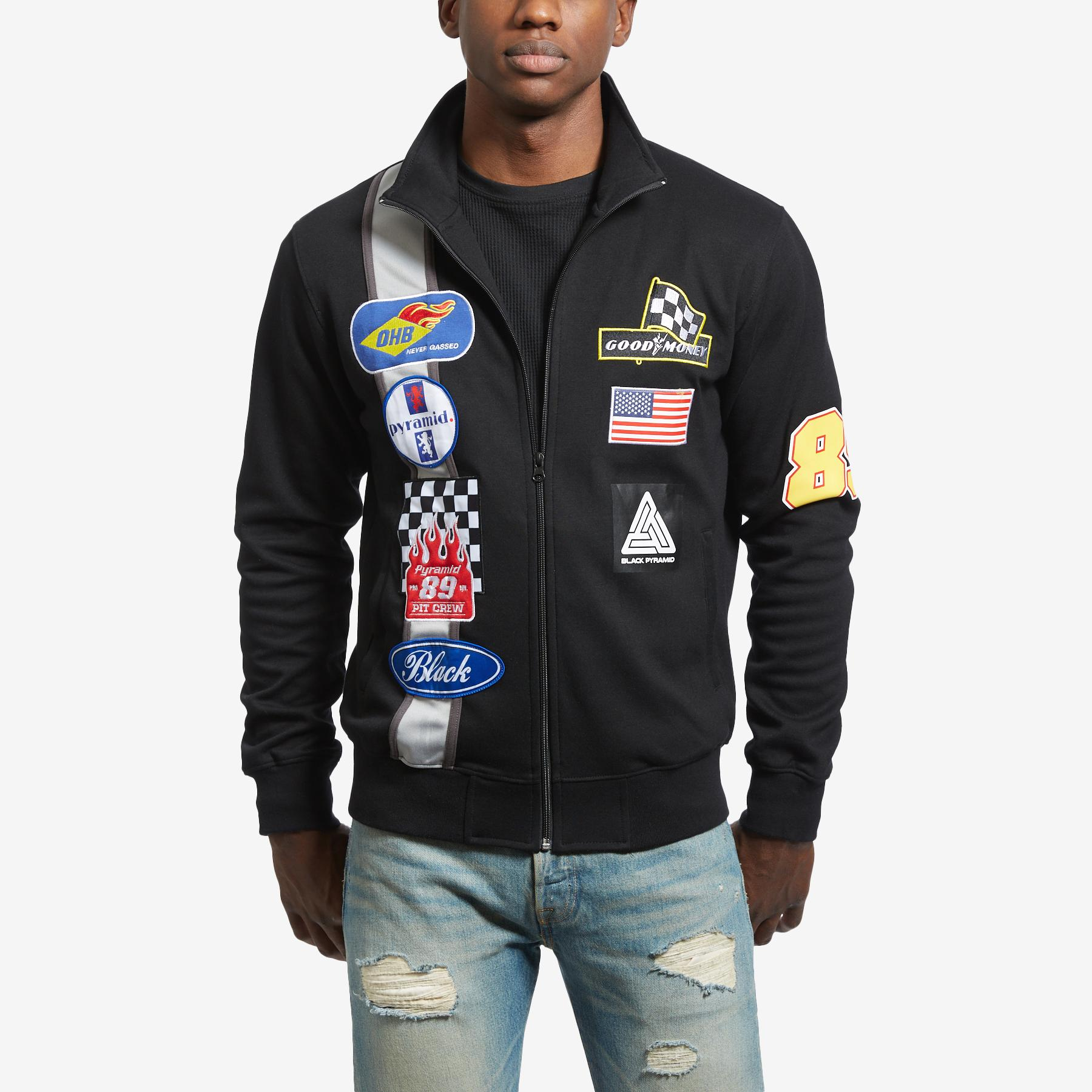 Men's Grease Monkey Track Jacket