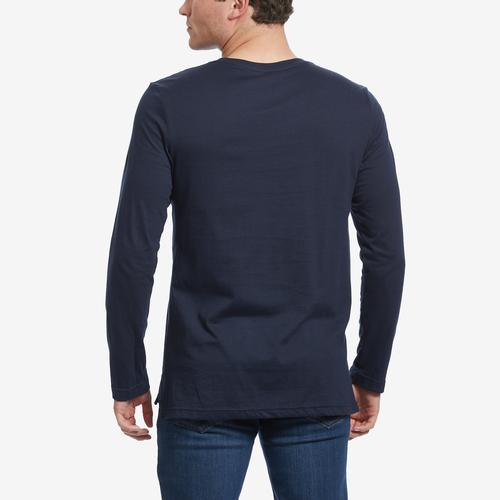 Tommy Hilfiger Men's Block Logo Long Sleeve T-Shirt