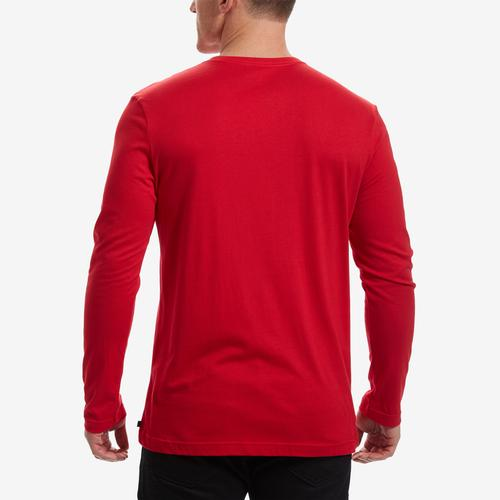 Tommy Hilfiger Men's Block Logo Long Sleeve Tee