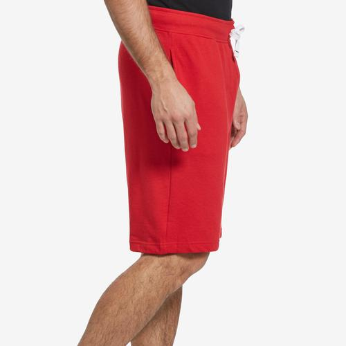 Left Side View of Tommy Hilfiger Men's Fleece Shorts