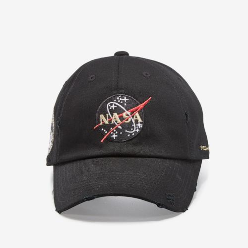 Field Grade NASA 50th Anniversary Distressed Hat