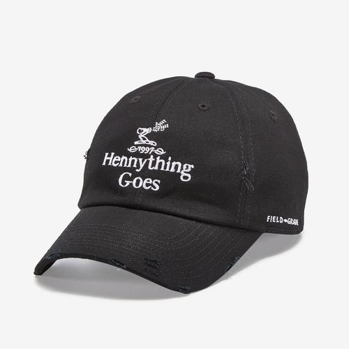 Front Right View of Field Grade Hennything Goes Hat