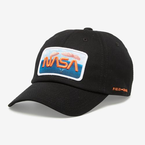Front Right View of Field Grade NASA 60 Years Of Space Hat